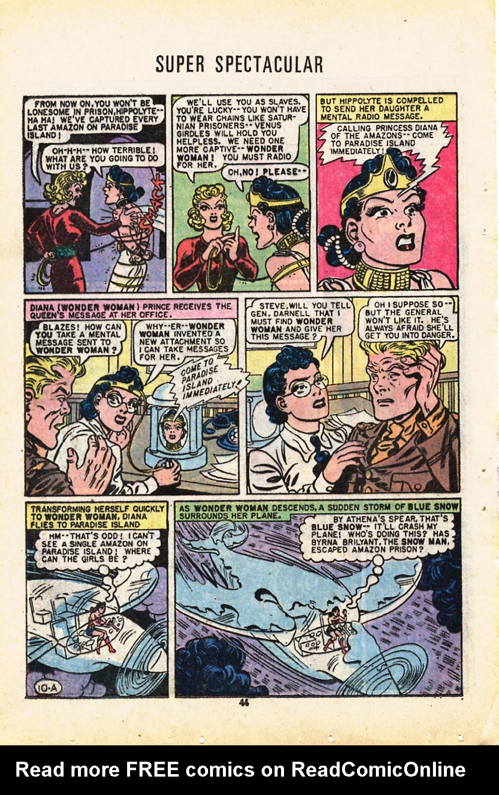 Read online Adventure Comics (1938) comic -  Issue #416 - 44