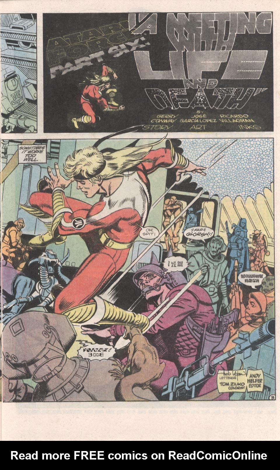 Read online Atari Force (1984) comic -  Issue #6 - 5