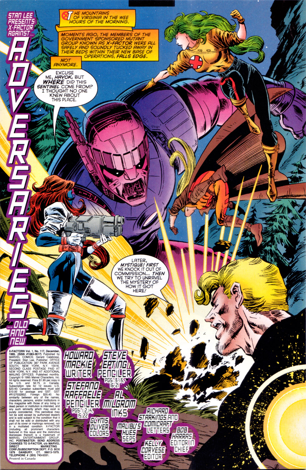 Read online X-Factor (1986) comic -  Issue #117 - 4