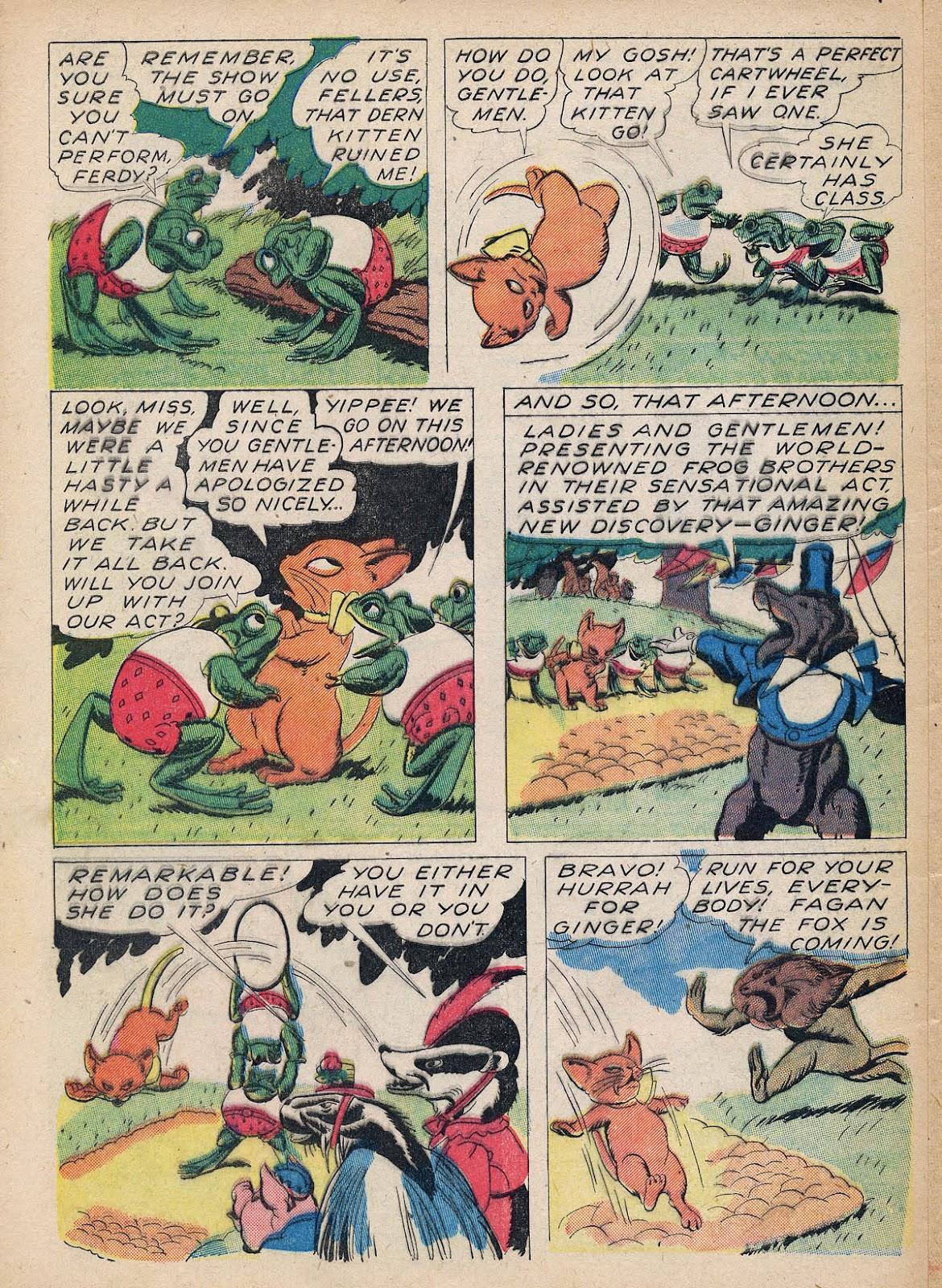 Read online Animal Comics comic -  Issue #7 - 56