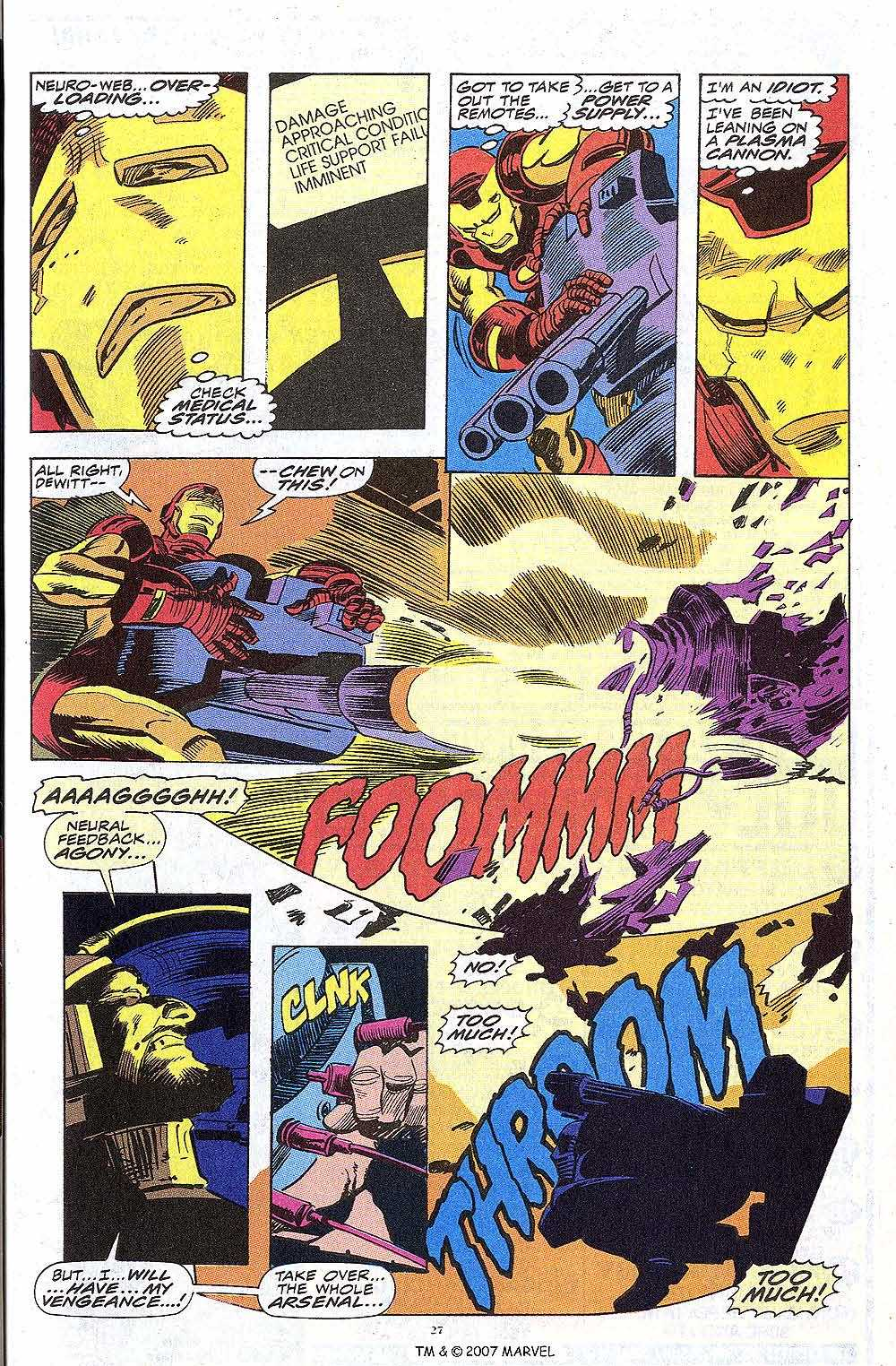 Iron Man Annual issue 13 - Page 29
