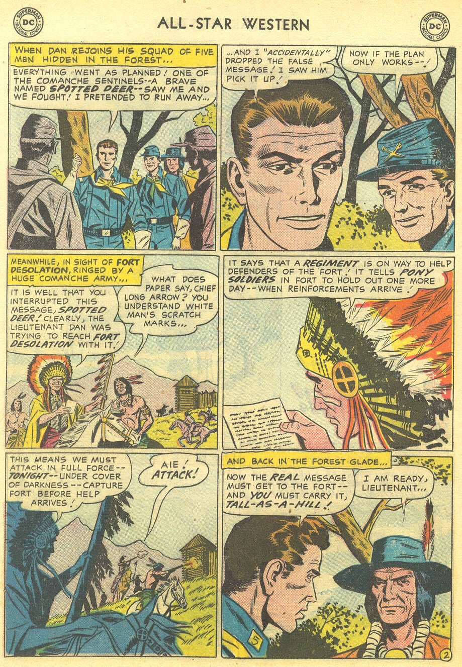 Read online All-Star Western (1951) comic -  Issue #95 - 20