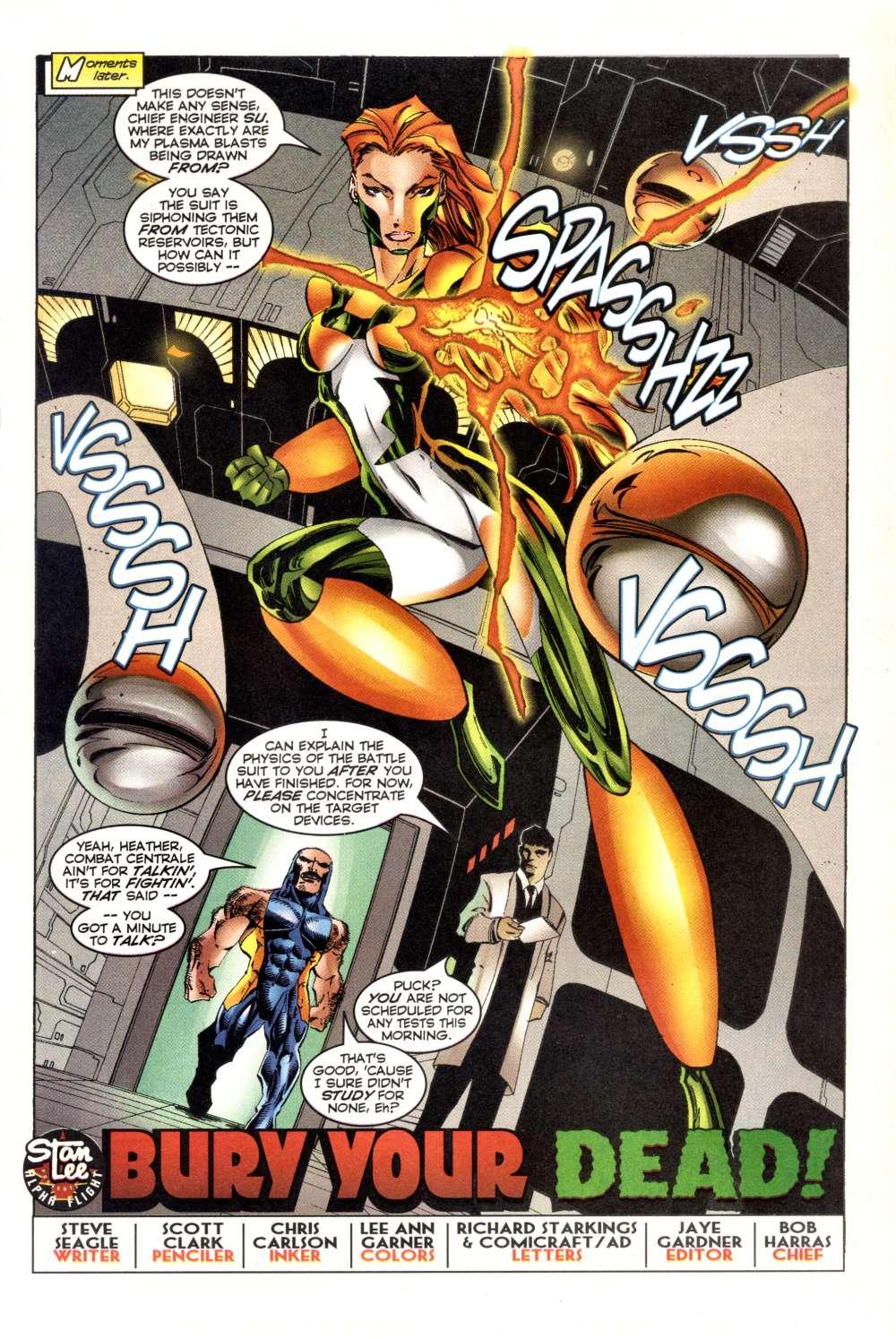 Read online Alpha Flight (1997) comic -  Issue #3 - 5
