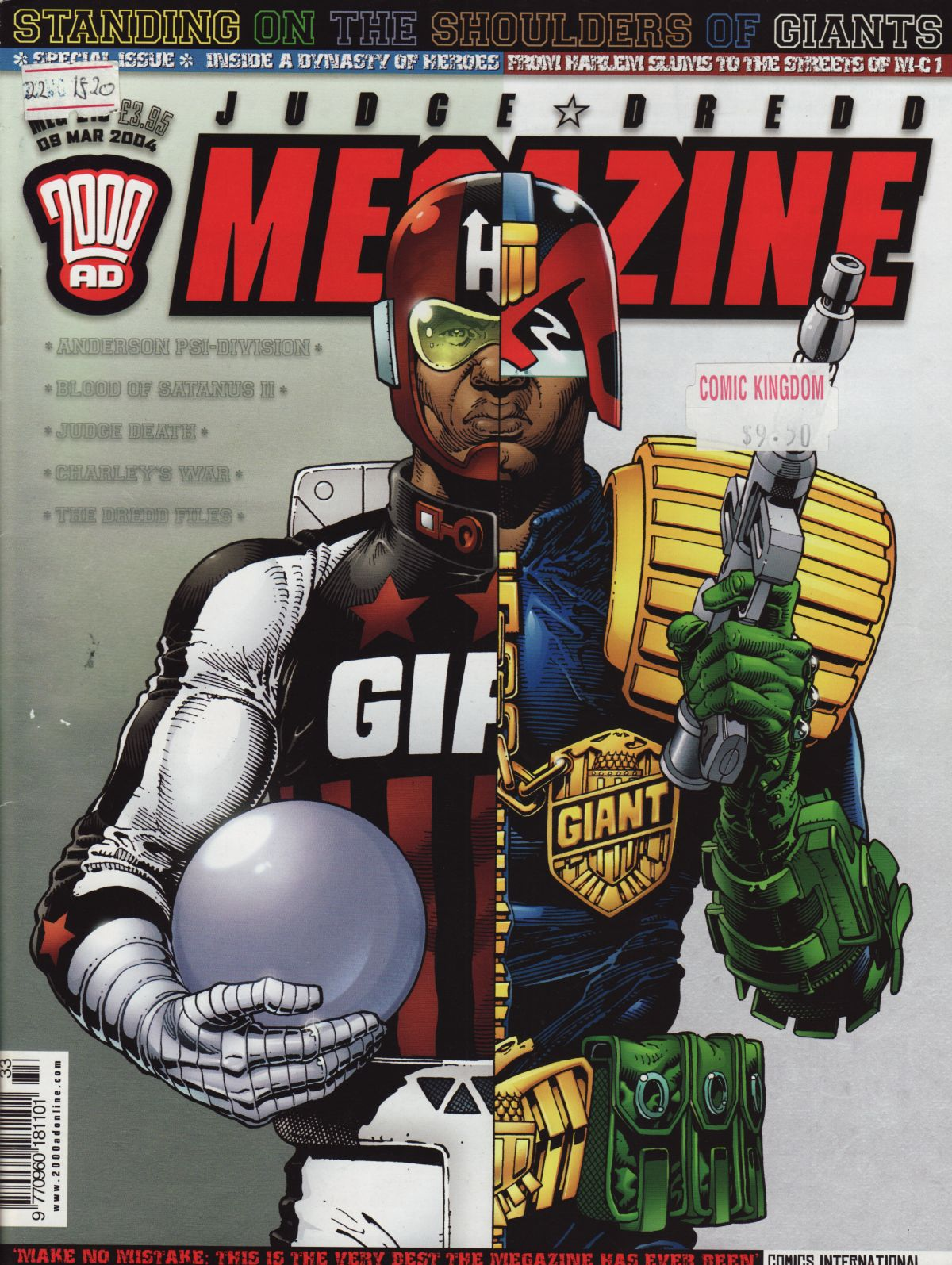 Judge Dredd Megazine (Vol. 5) issue 216 - Page 1