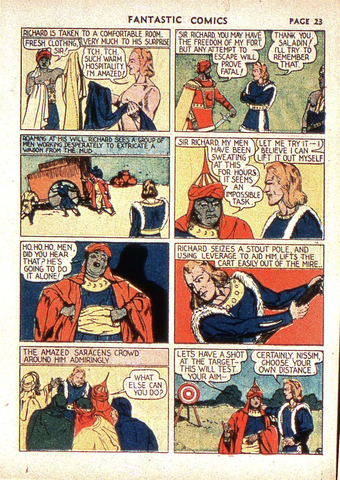 Read online Fantastic Comics comic -  Issue #2 - 25