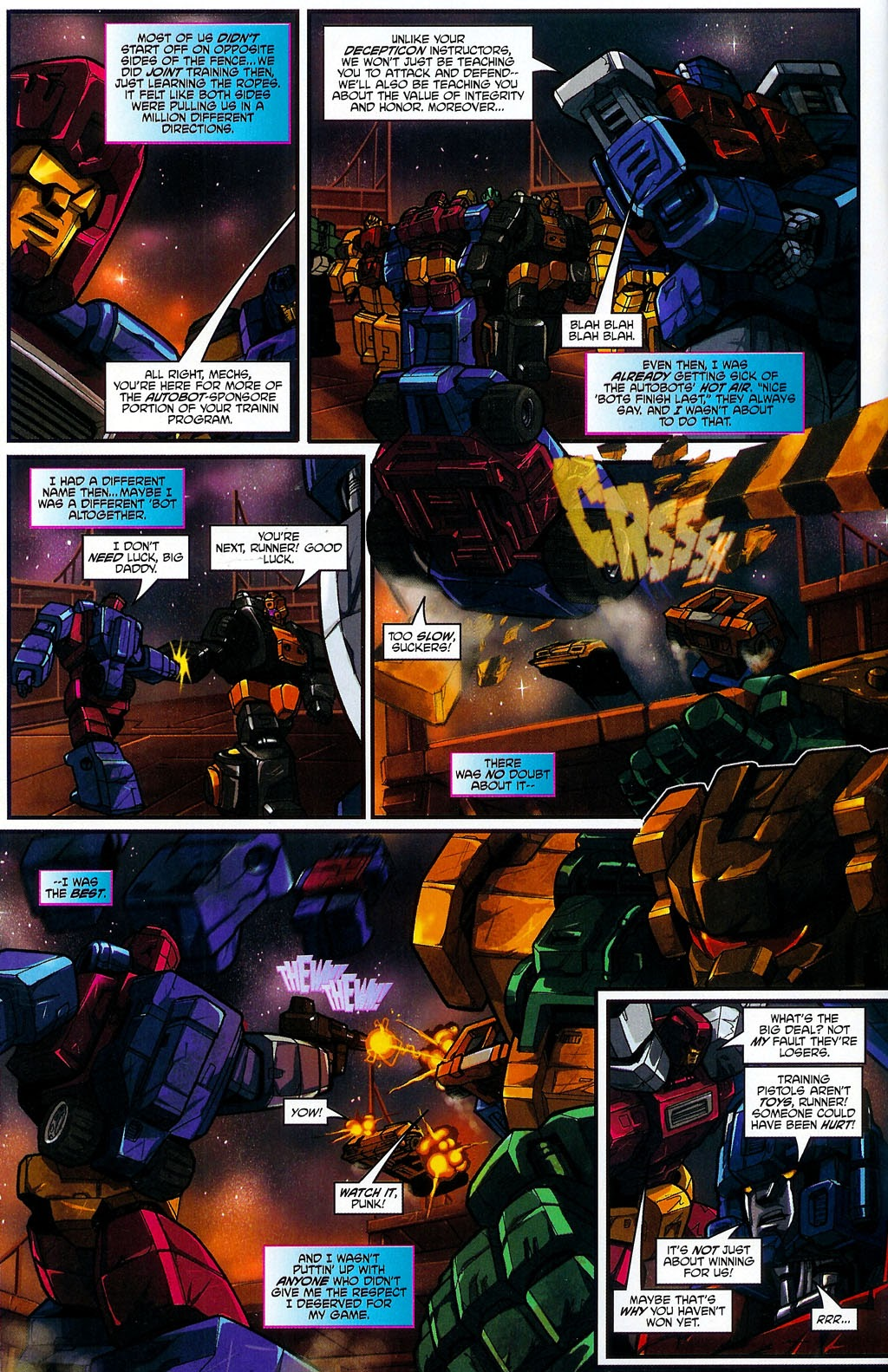 Read online Transformers: Micromasters comic -  Issue #4 - 9