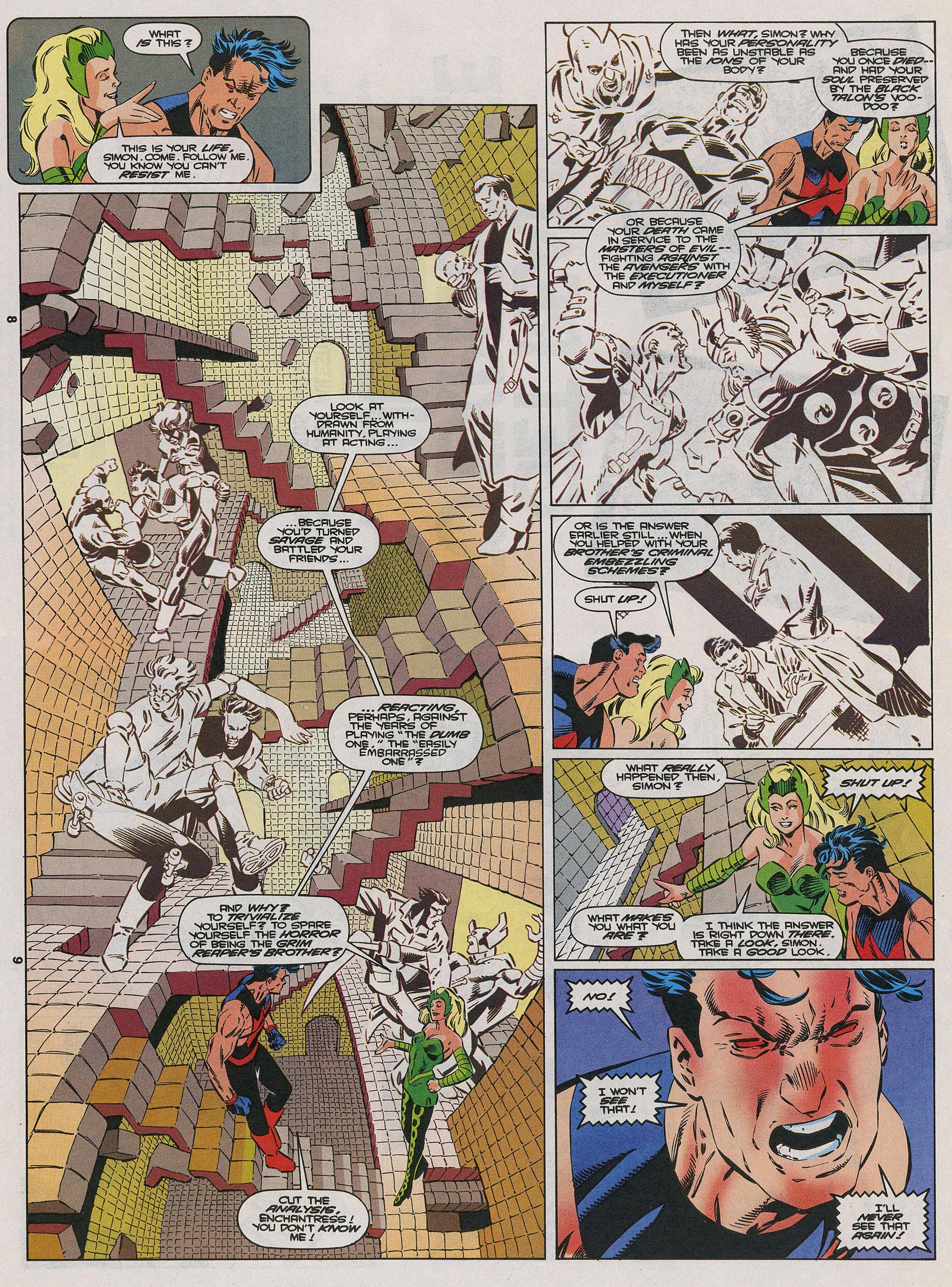 Read online Wonder Man (1991) comic -  Issue #22 - 7