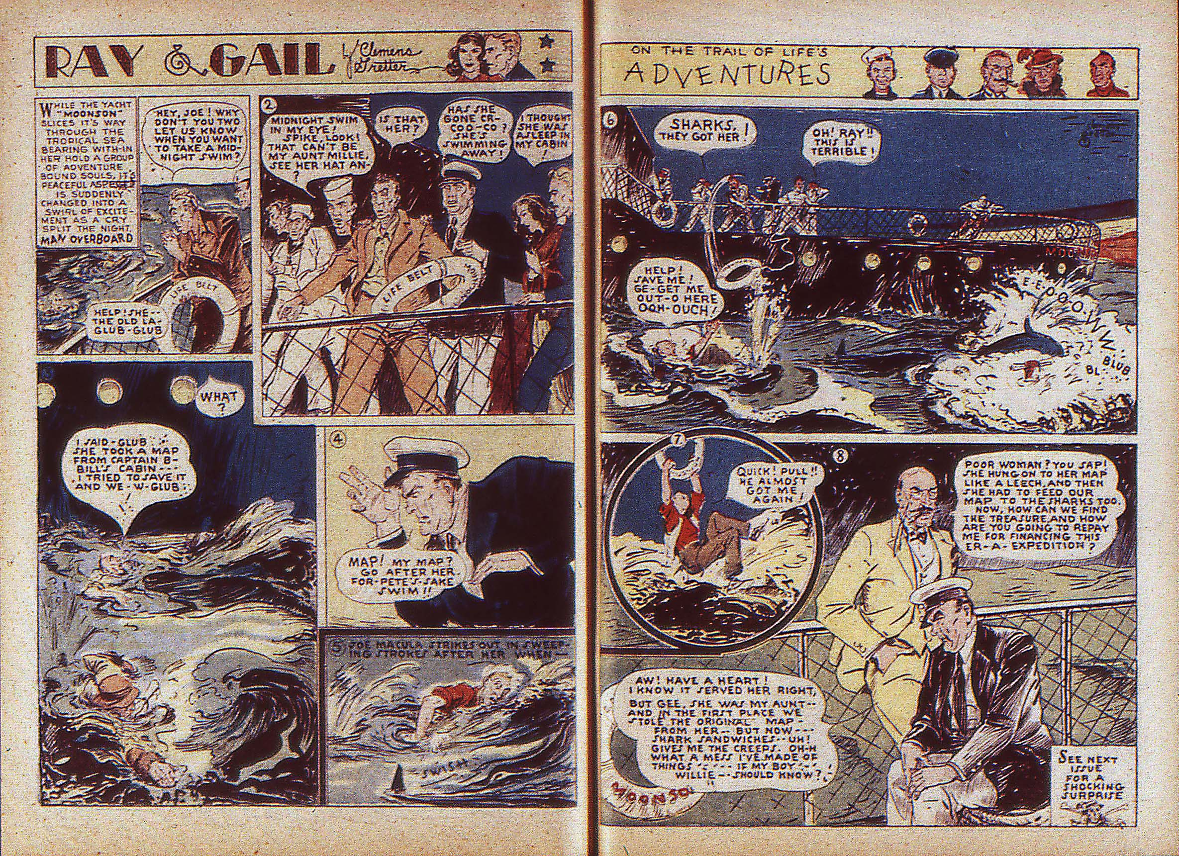 Read online Adventure Comics (1938) comic -  Issue #5 - 34