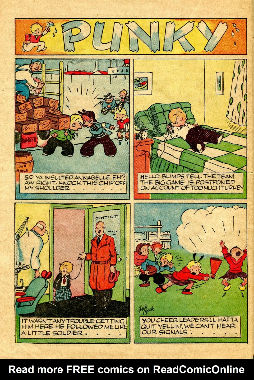 Read online Famous Funnies comic -  Issue #64 - 55