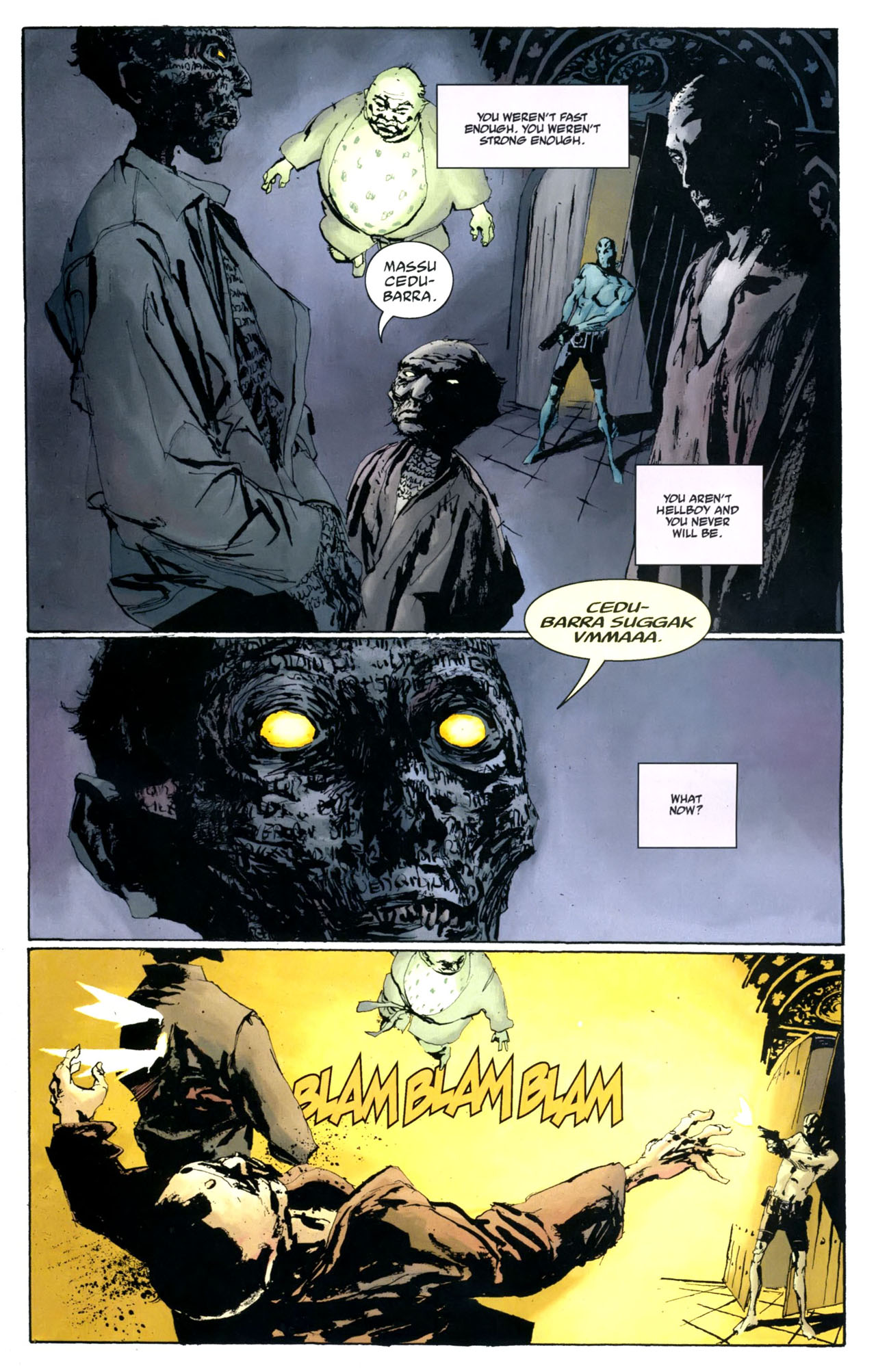 Read online Abe Sapien: The Drowning comic -  Issue #5 - 13