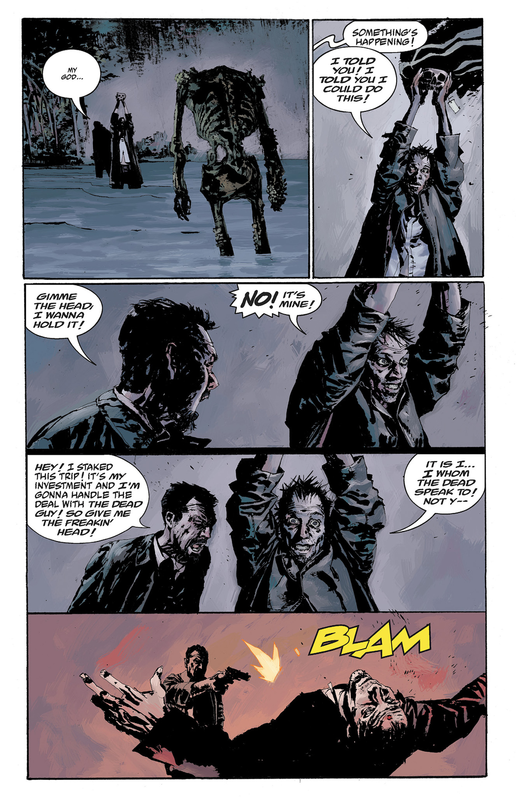 Read online Hellboy: The Crooked Man and Others comic -  Issue # TPB - 97