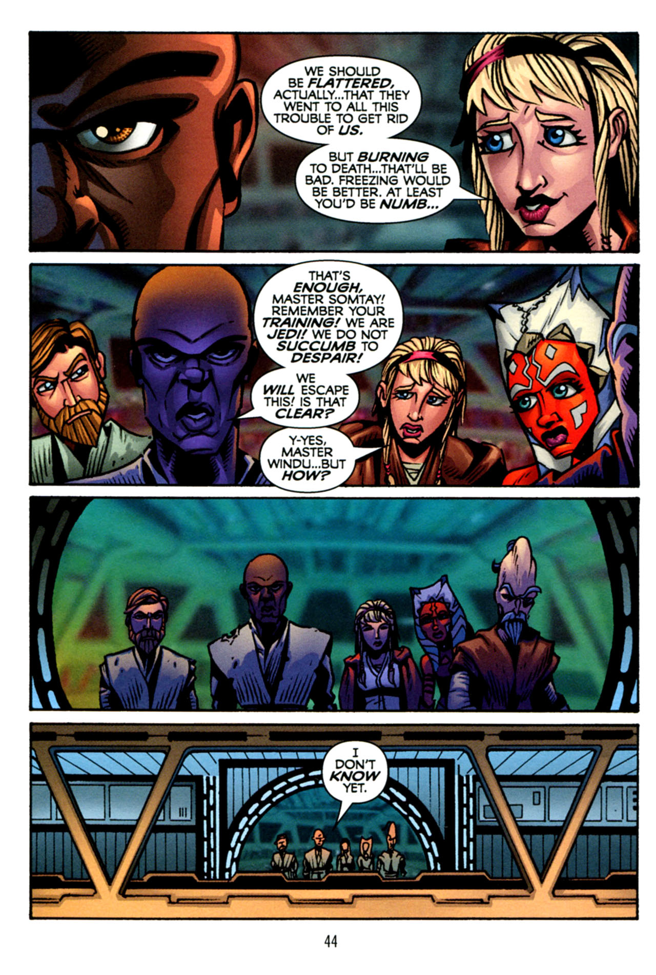 Read online Star Wars: The Clone Wars - The Starcrusher Trap comic -  Issue # Full - 45