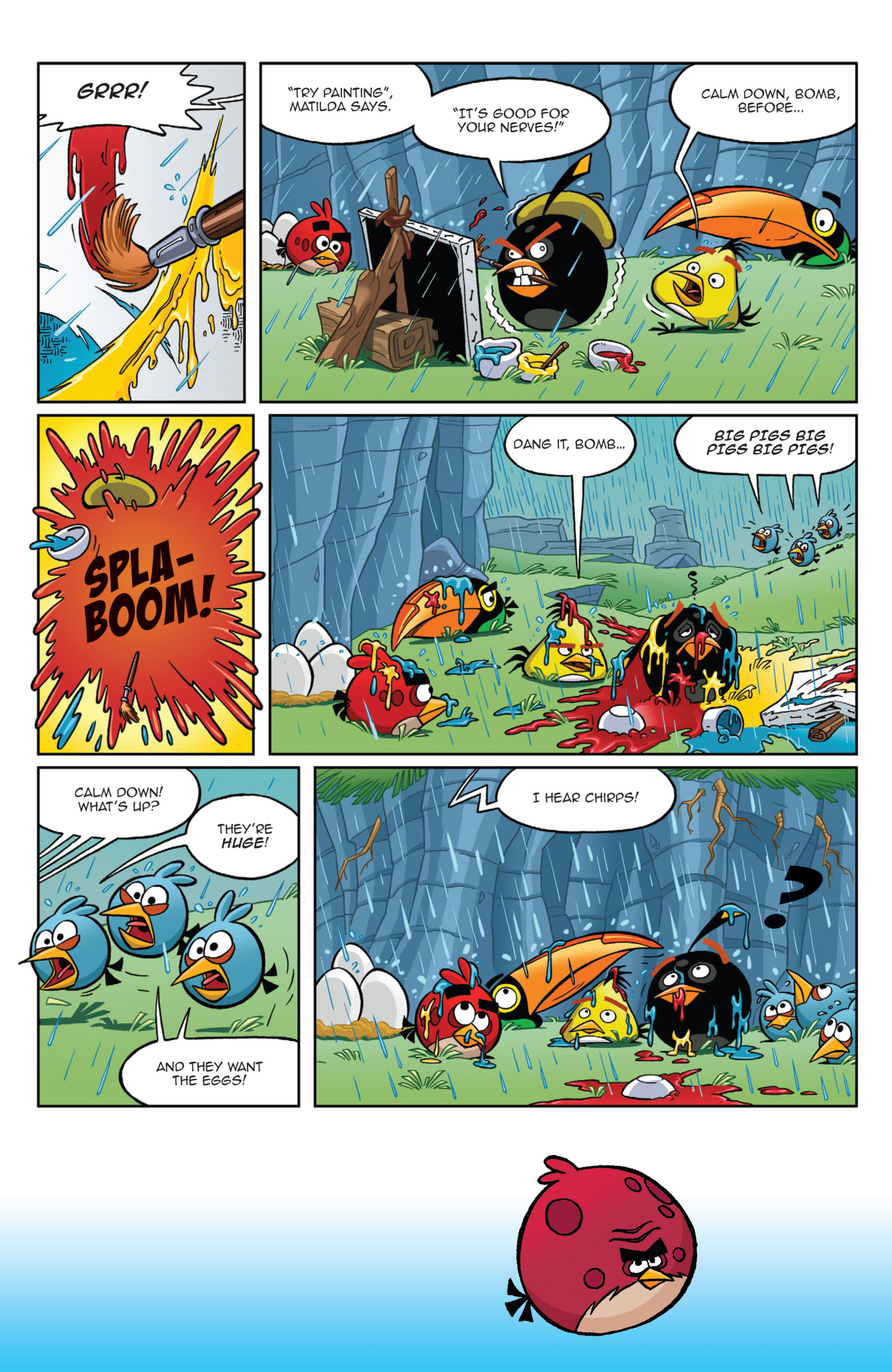 Read online Angry Birds Comics (2014) comic -  Issue #9 - 8