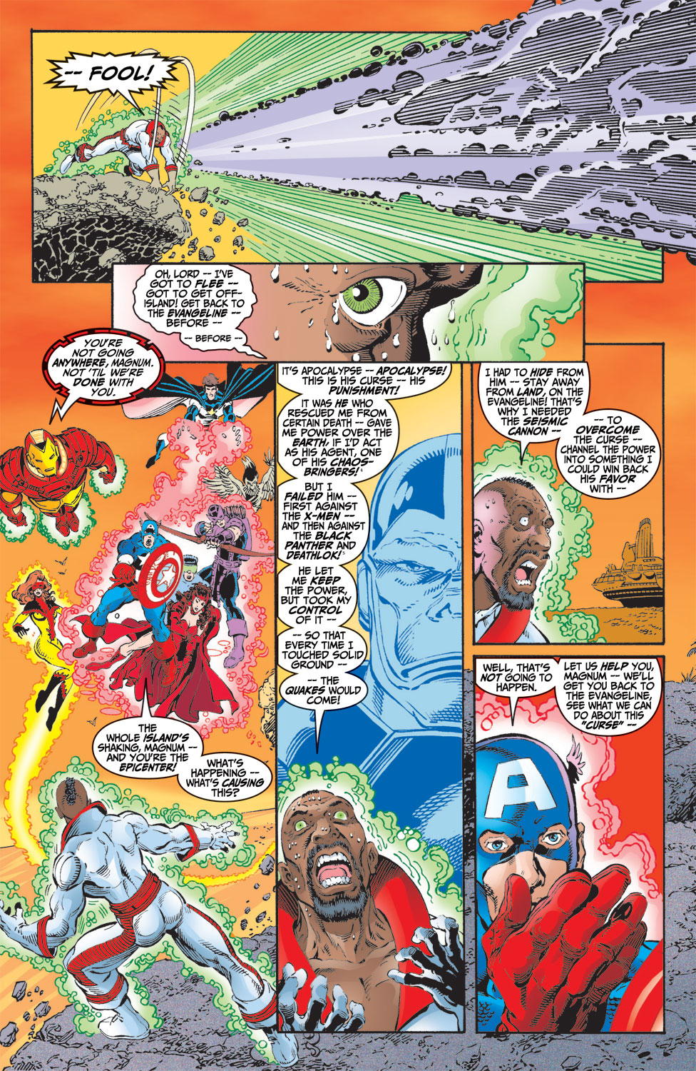 Read online Avengers (1998) comic -  Issue #9 - 20