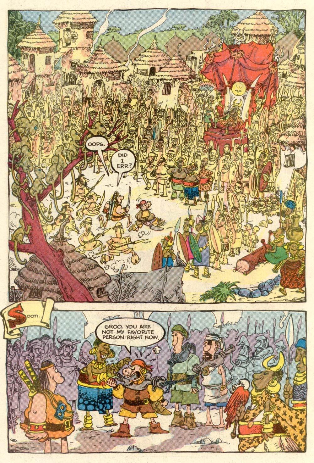 Read online Sergio Aragonés Groo the Wanderer comic -  Issue #5 - 16