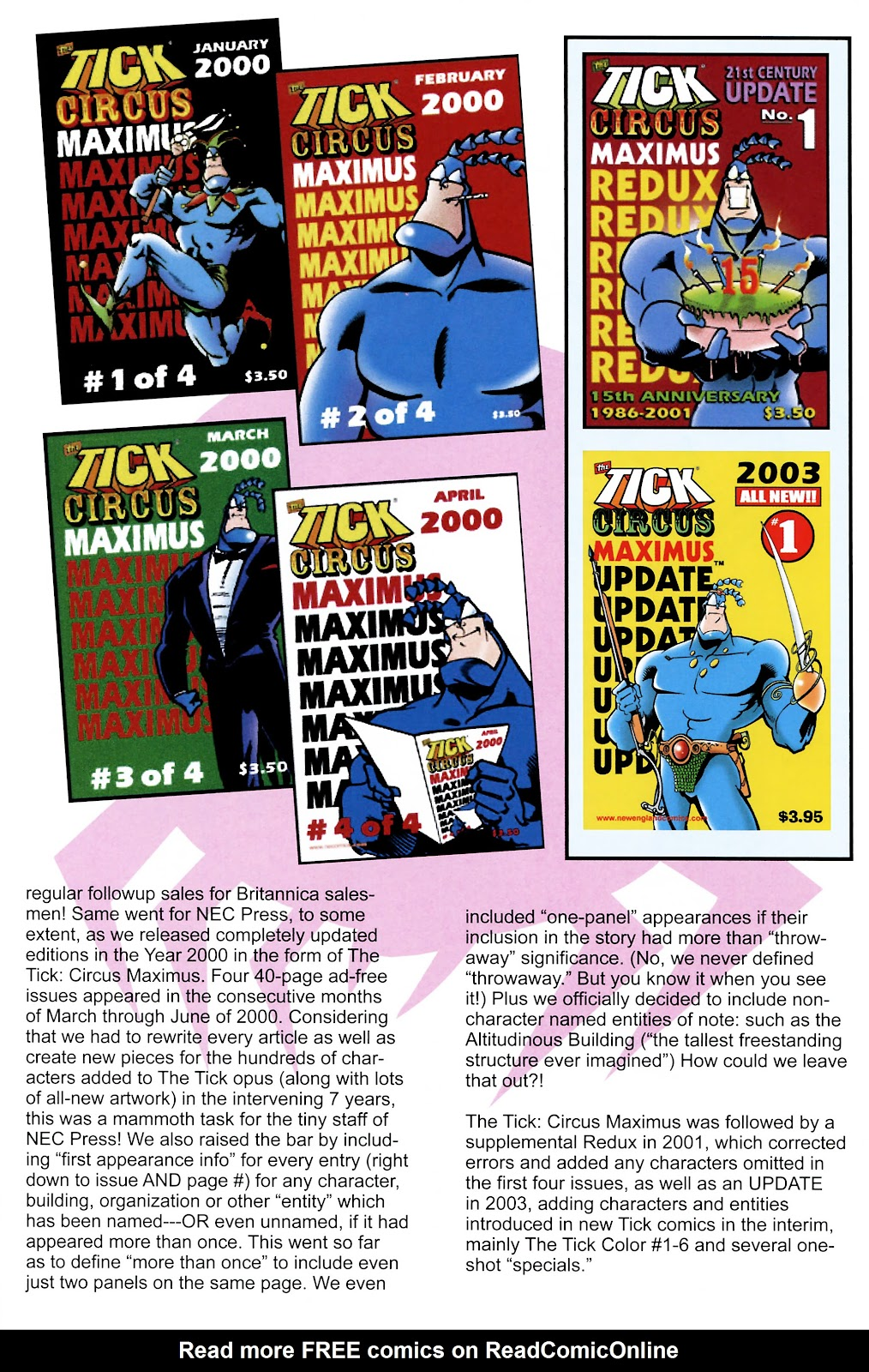 Read online The Tick comic -  Issue #101 - 30