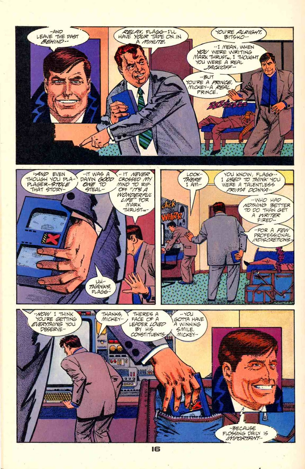 Howard Chaykin's American Flagg issue 2 - Page 18