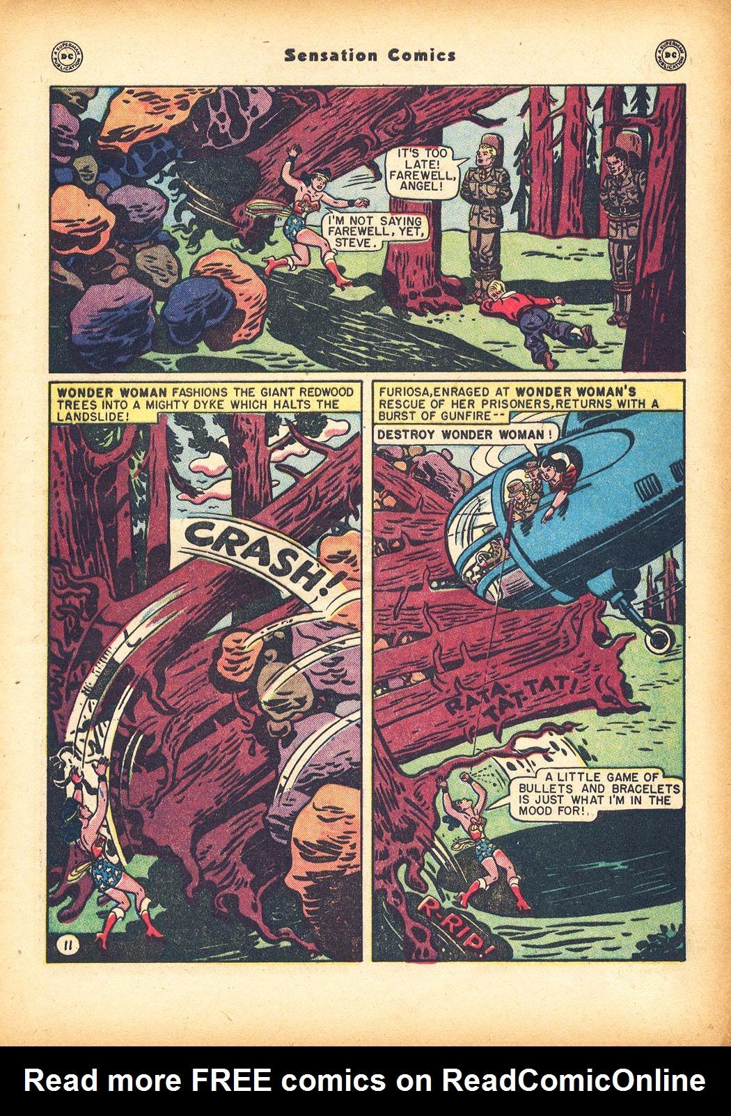 Read online Sensation (Mystery) Comics comic -  Issue #78 - 13