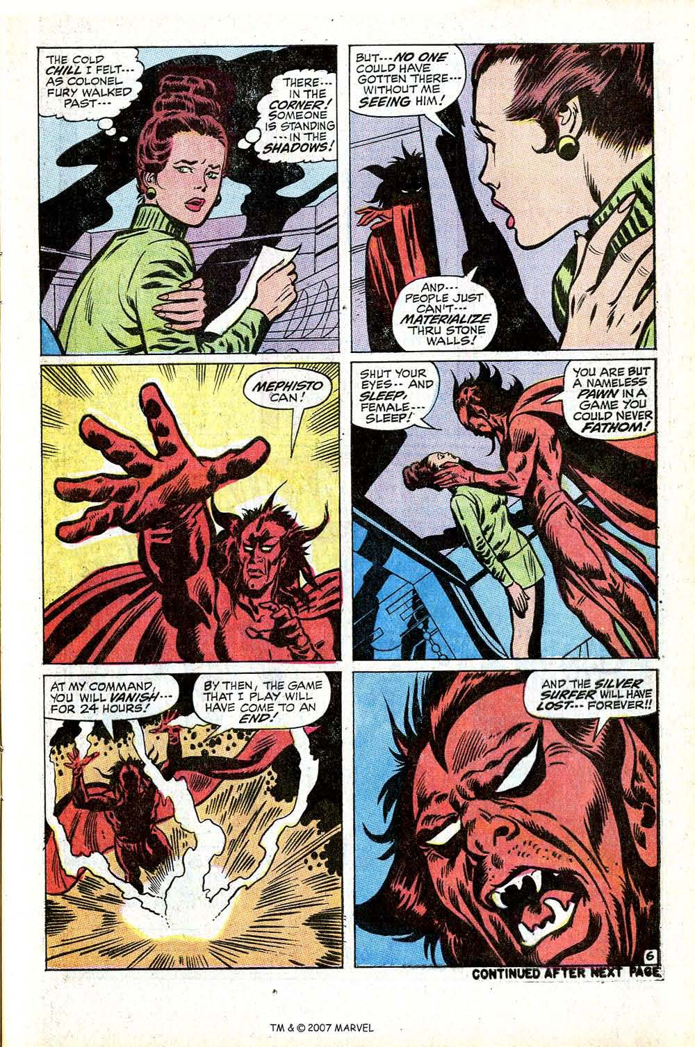 Read online Silver Surfer (1968) comic -  Issue #17 - 9