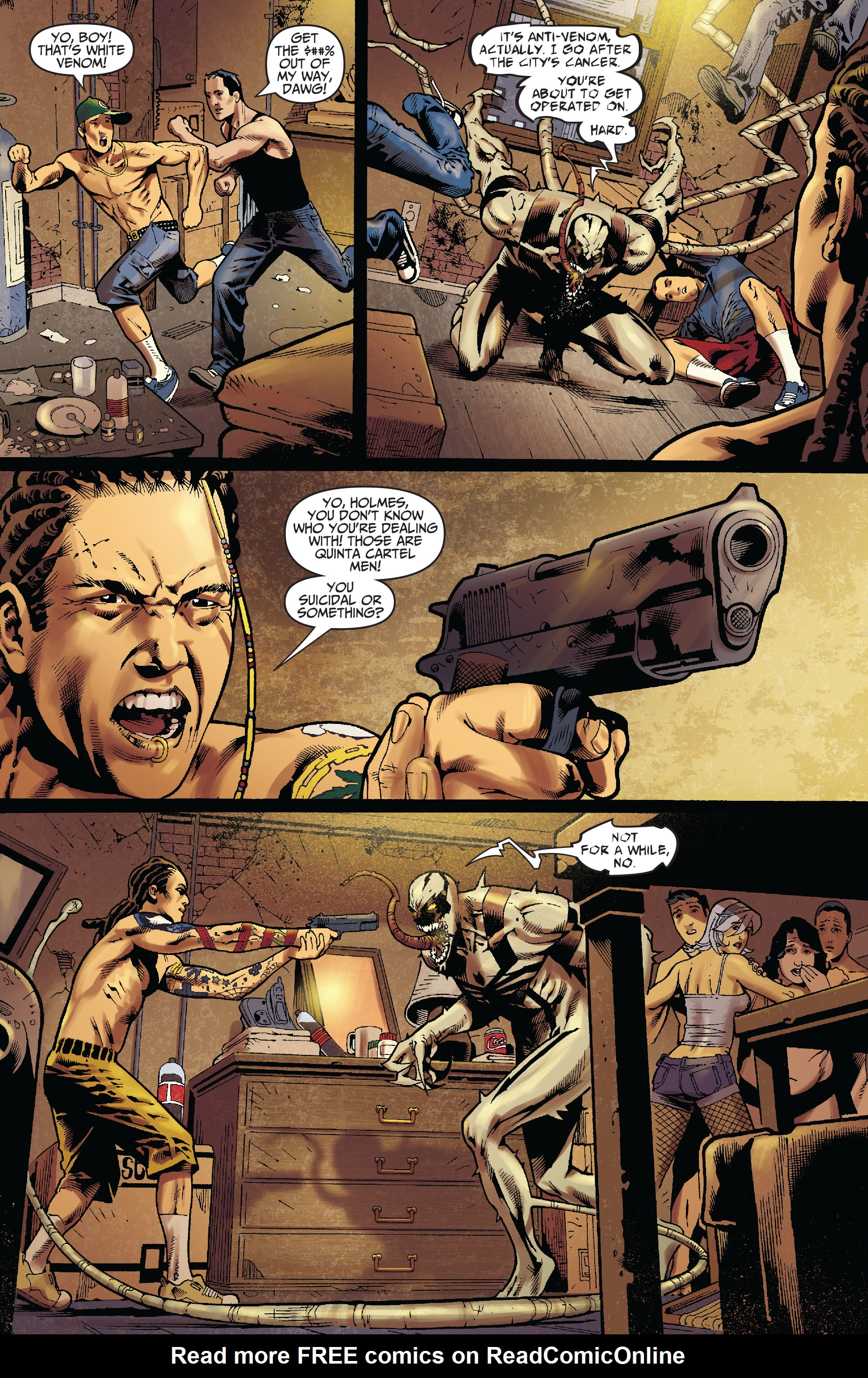 Read online Amazing Spider-Man Presents: Anti-Venom - New Ways To Live comic -  Issue #1 - 9