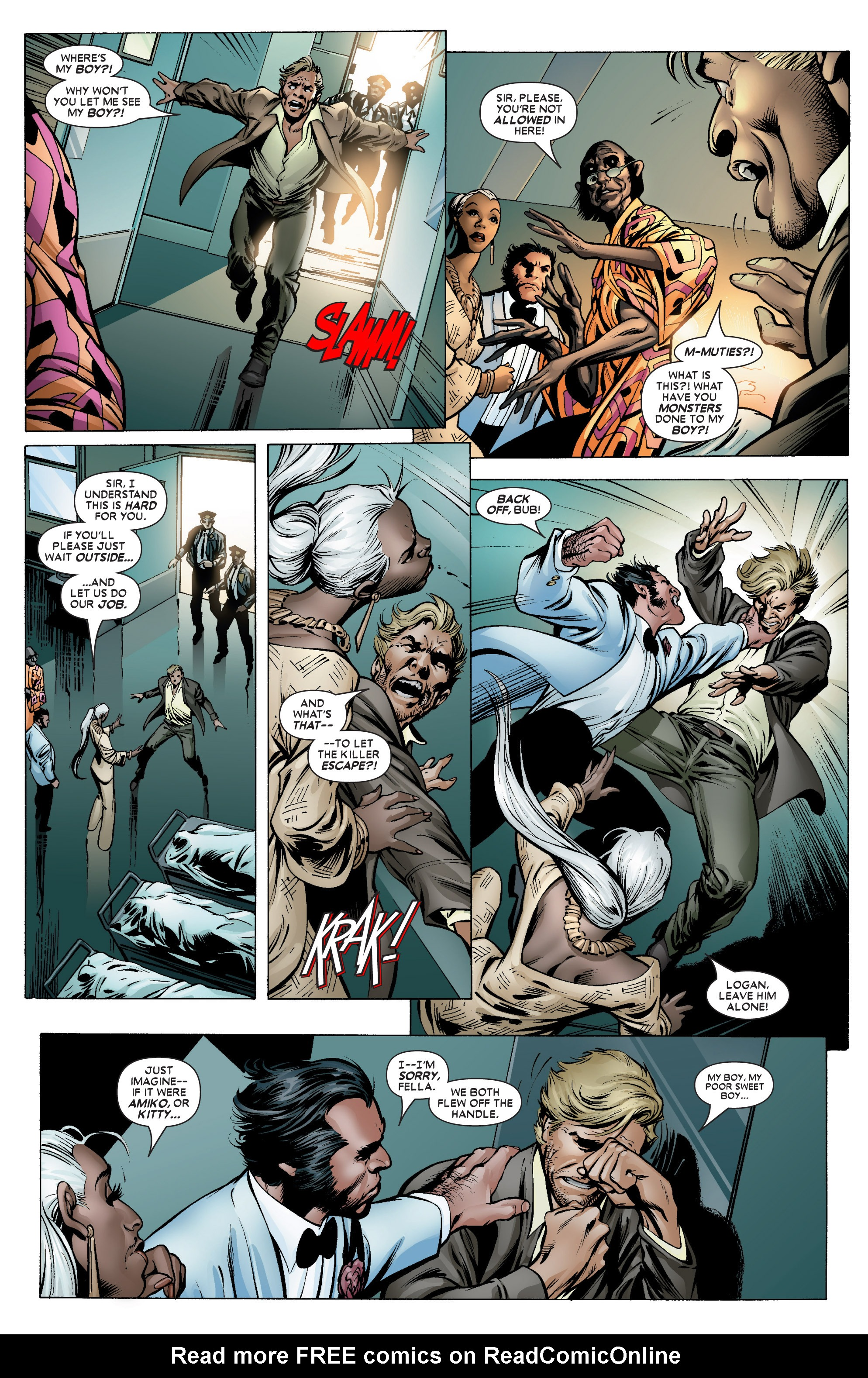 Read online Uncanny X-Men (1963) comic -  Issue #450 - 16