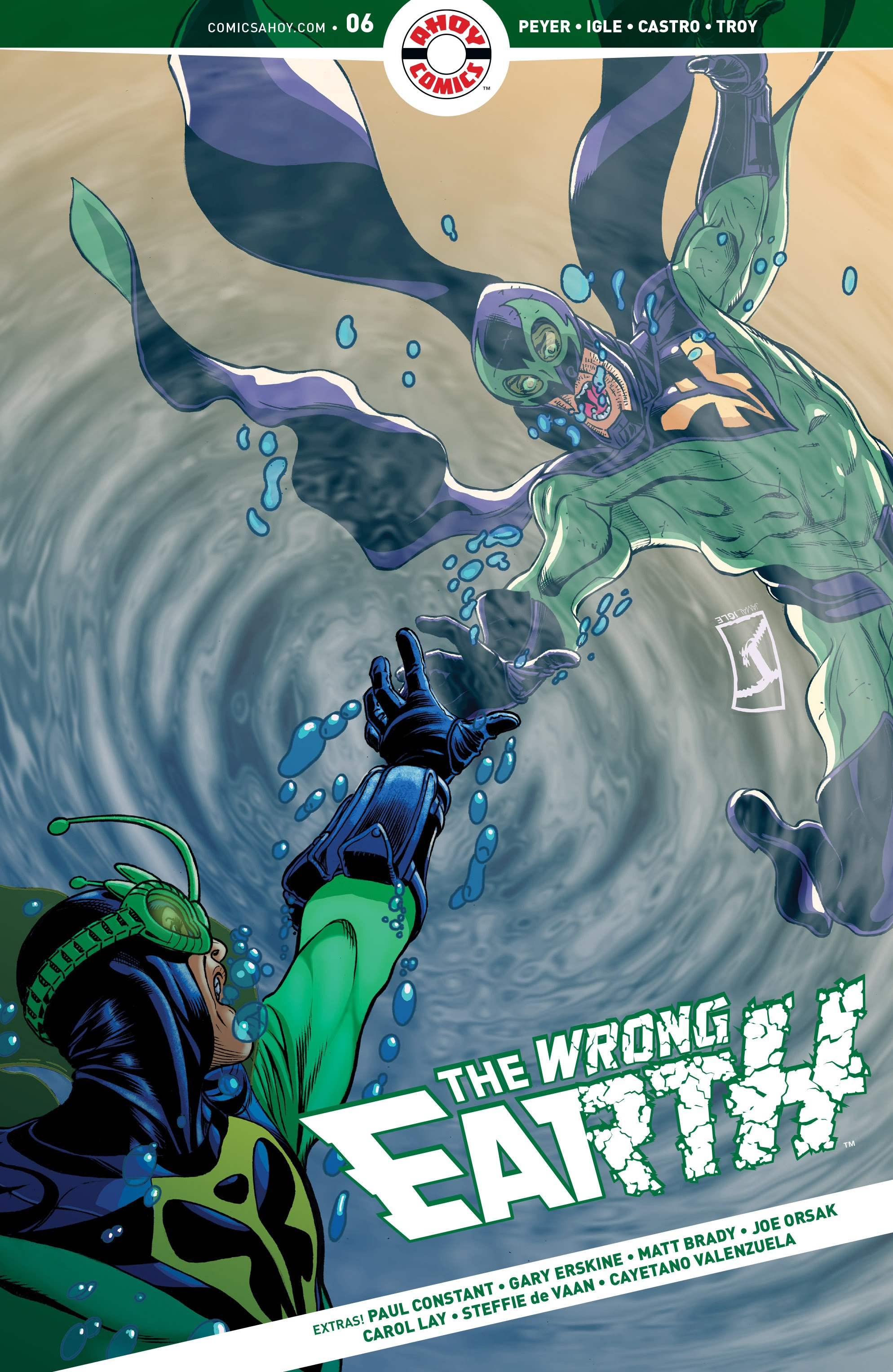The Wrong Earth 6 Page 1