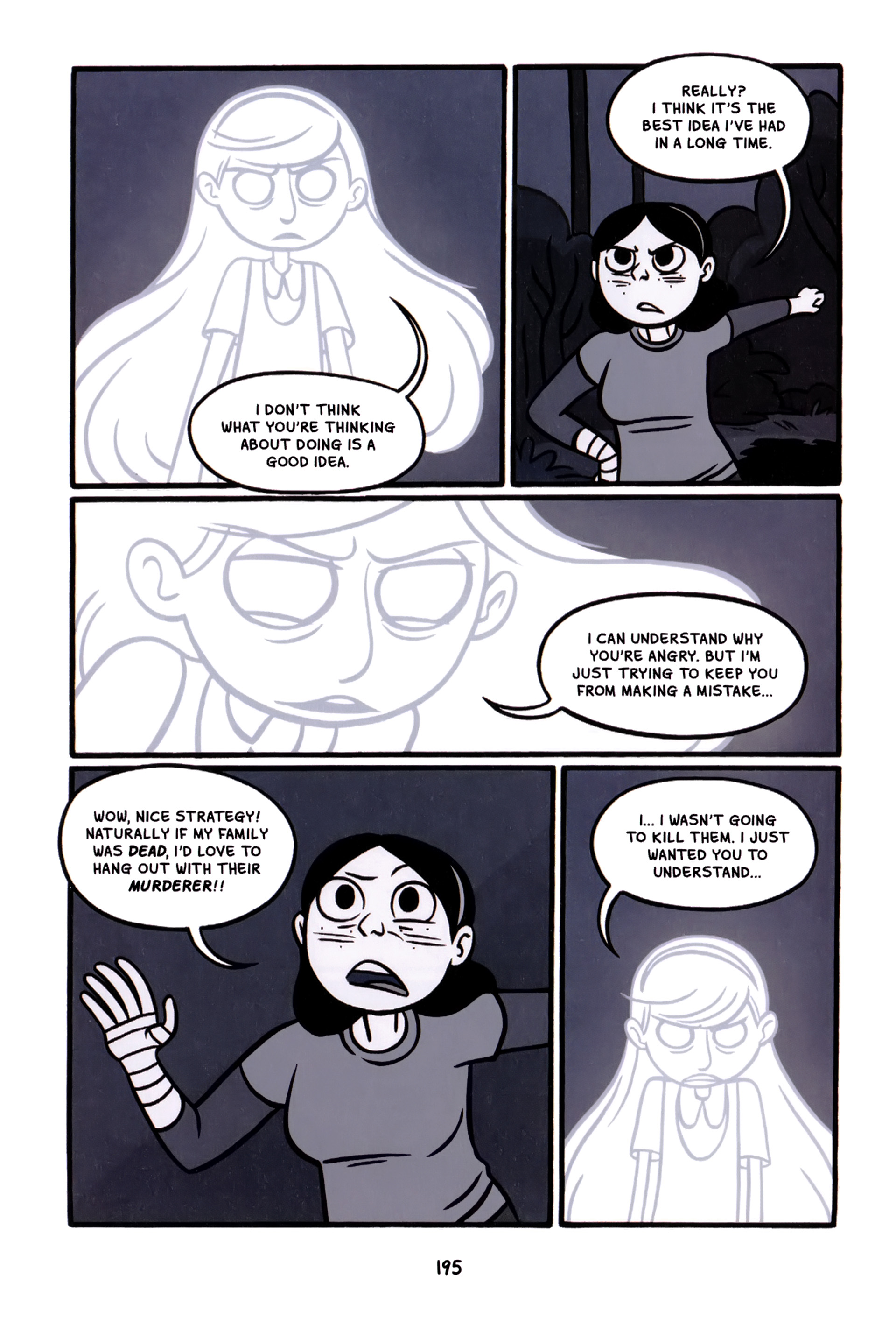 Read online Anya's Ghost comic -  Issue #1 - 196