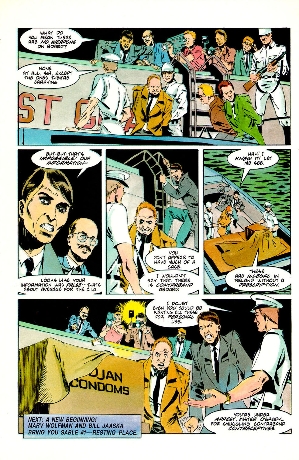 Jon Sable, Freelance issue 56 - Page 27