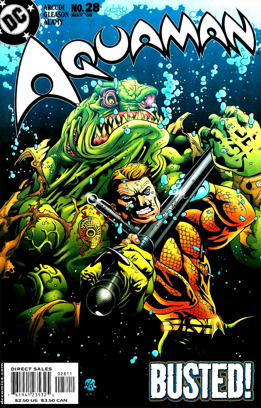 Read online Aquaman (2003) comic -  Issue #28 - 1
