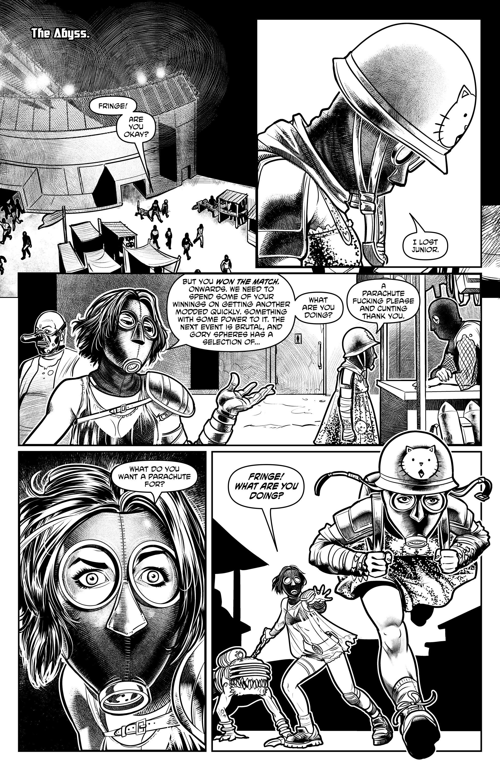 Read online Alan Moore's Cinema Purgatorio comic -  Issue #7 - 25