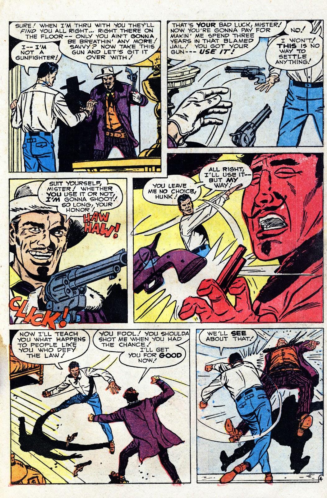 Gunsmoke Western issue 60 - Page 23