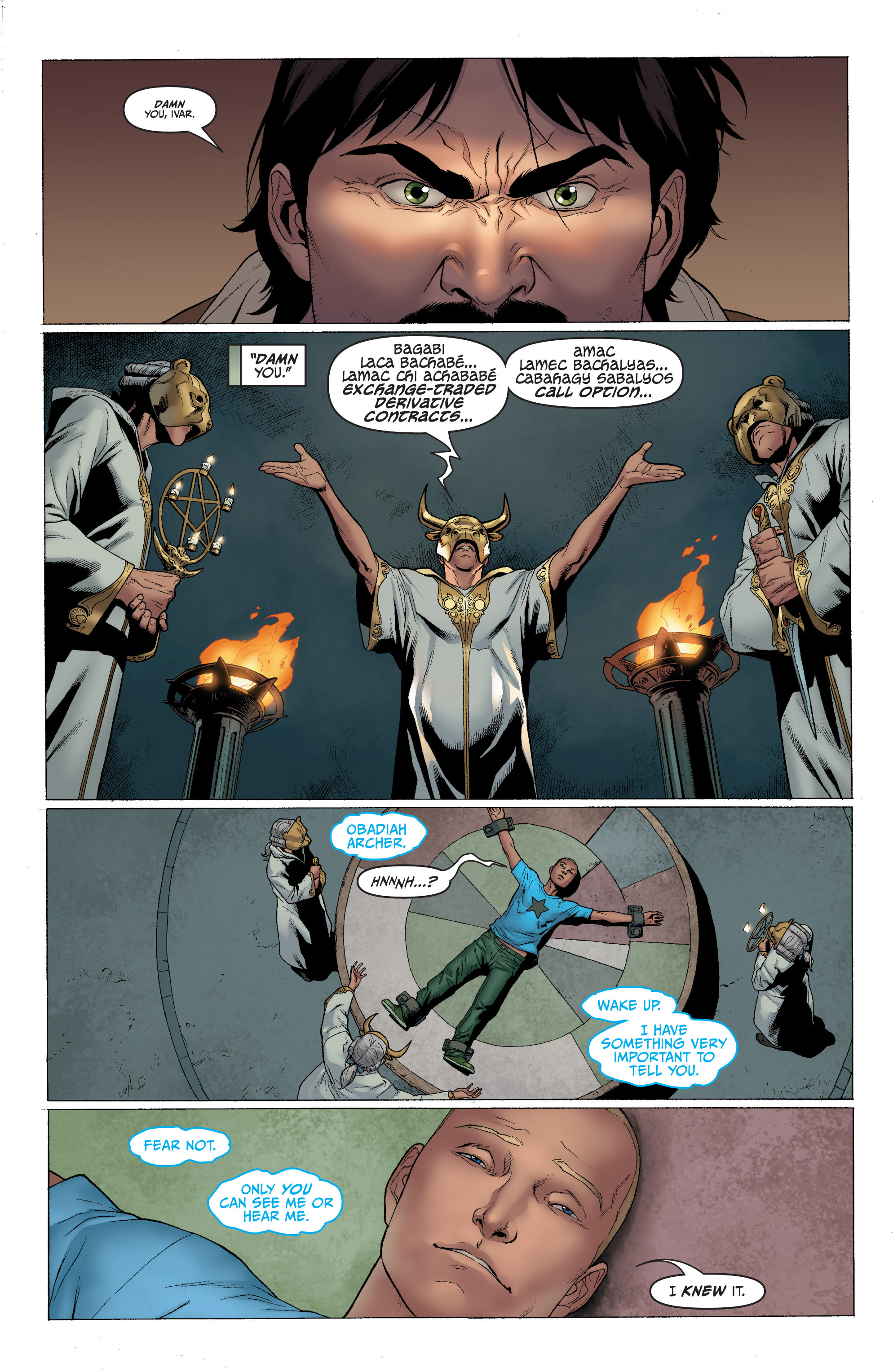 Read online Archer and Armstrong comic -  Issue #Archer and Armstrong _TPB 1 - 38