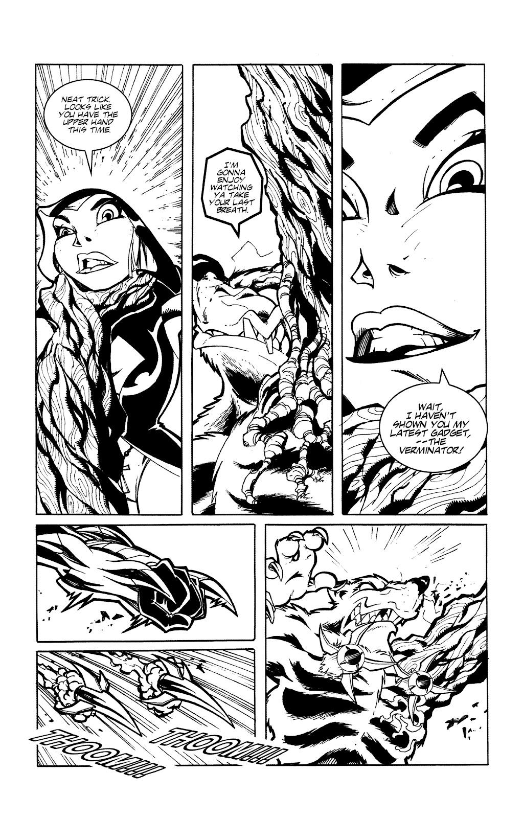 Warrior Nun Areala:  Dangerous Game Issue #3 #3 - English 7