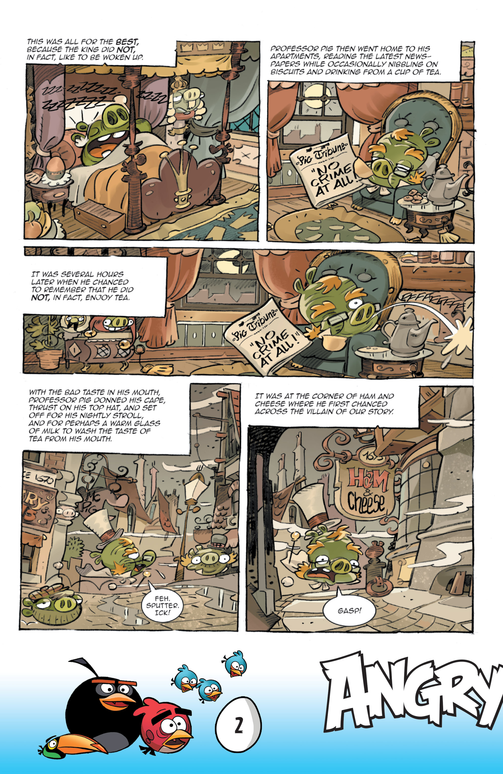 Read online Angry Birds Comics: Game Play comic -  Issue #3 - 4