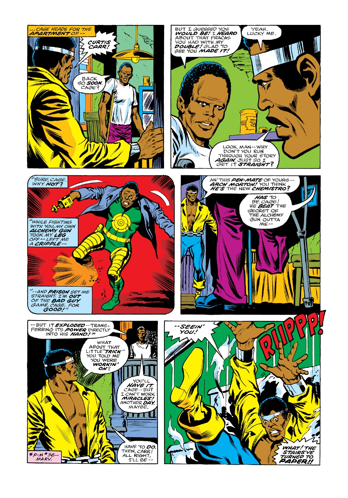 Read online Marvel Masterworks: Luke Cage, Power Man comic -  Issue # TPB 3 (Part 2) - 43