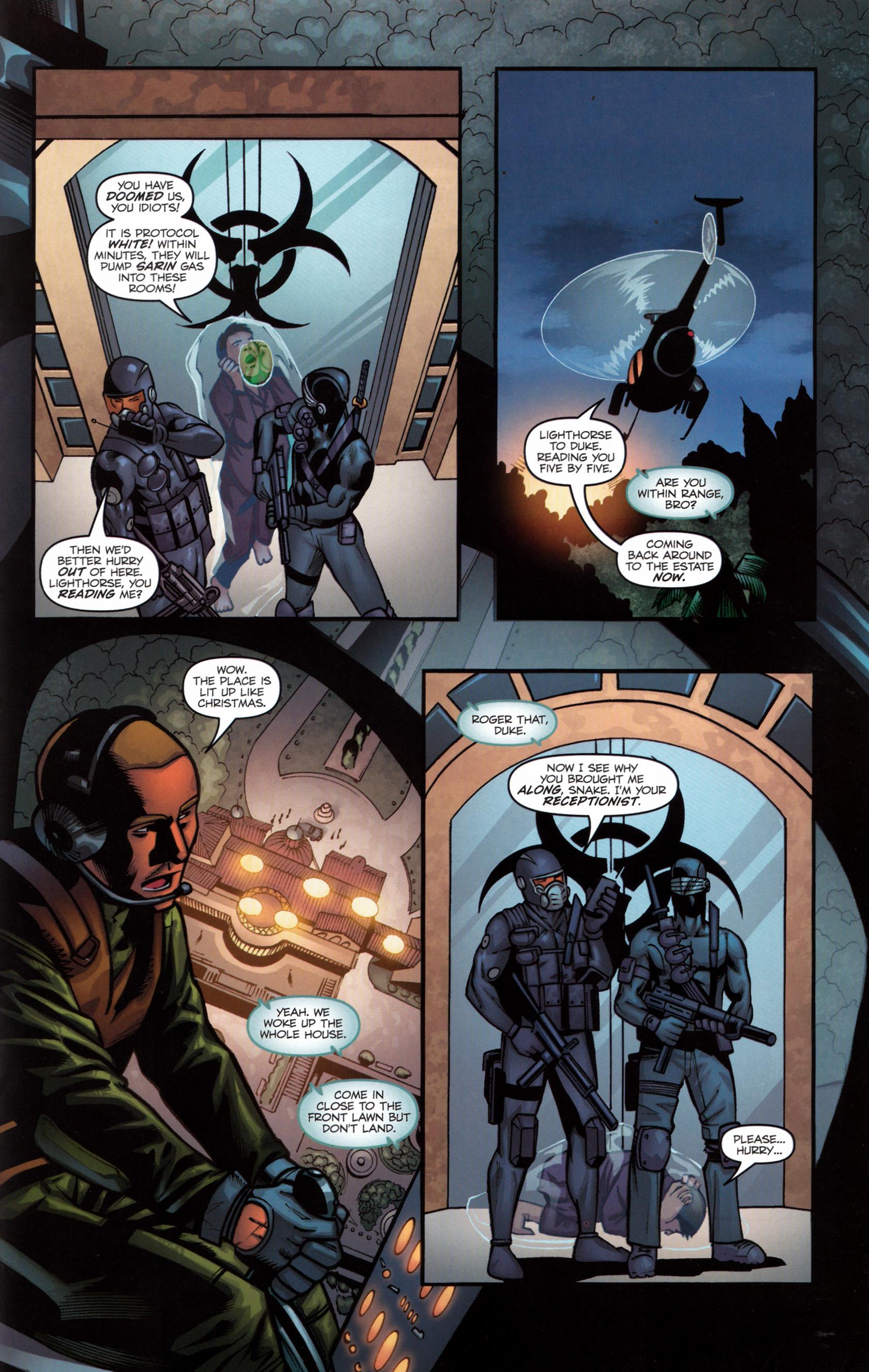 Read online G.I. Joe: Snake Eyes comic -  Issue #6 - 18