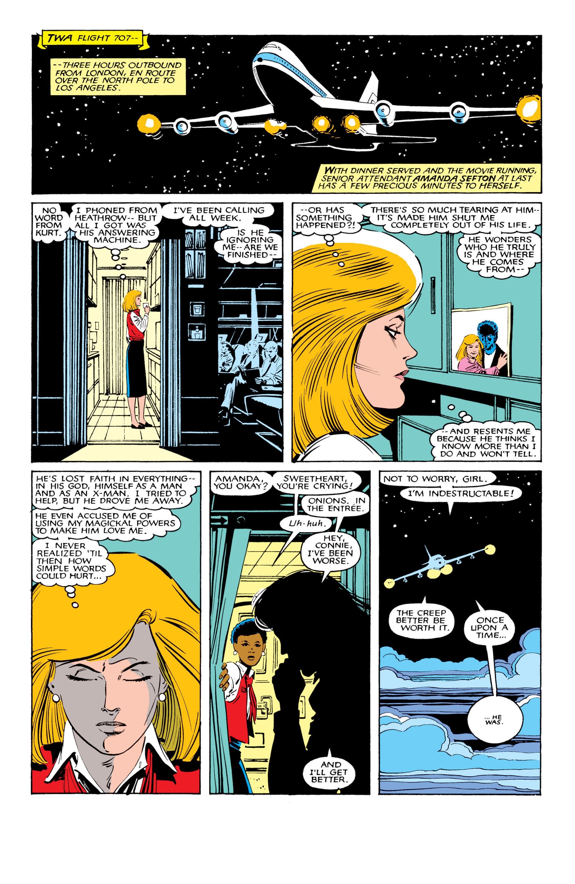 Read online Uncanny X-Men (1963) comic -  Issue #206 - 9