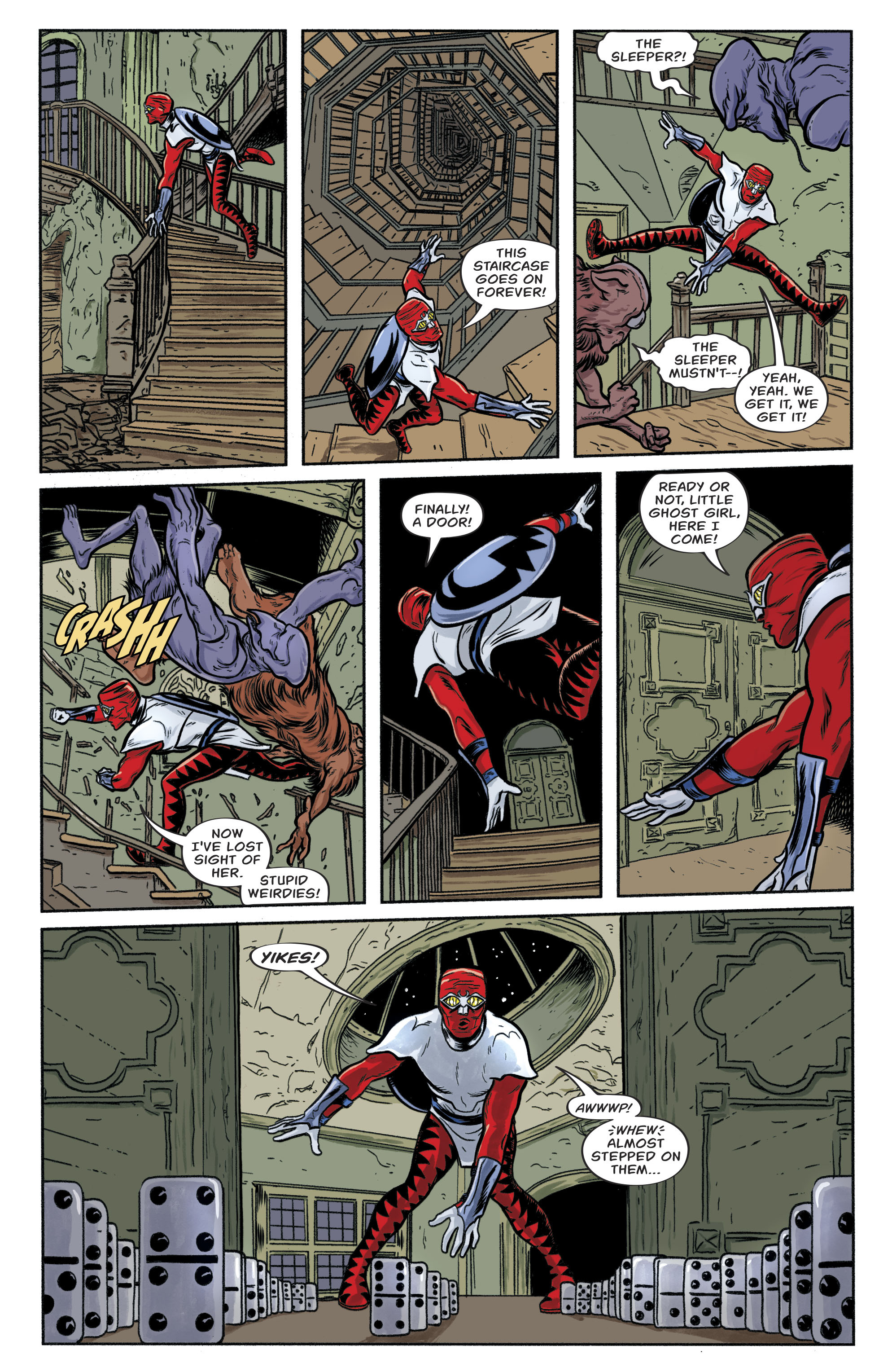 Read online Bug! The Adventures of Forager comic -  Issue #1 - 9