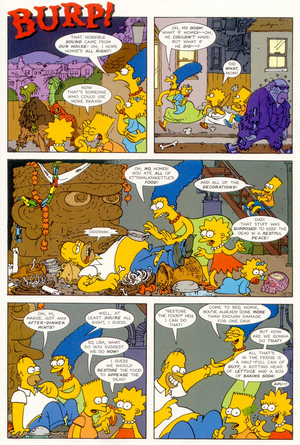 Read online Treehouse of Horror comic -  Issue #5 - 25