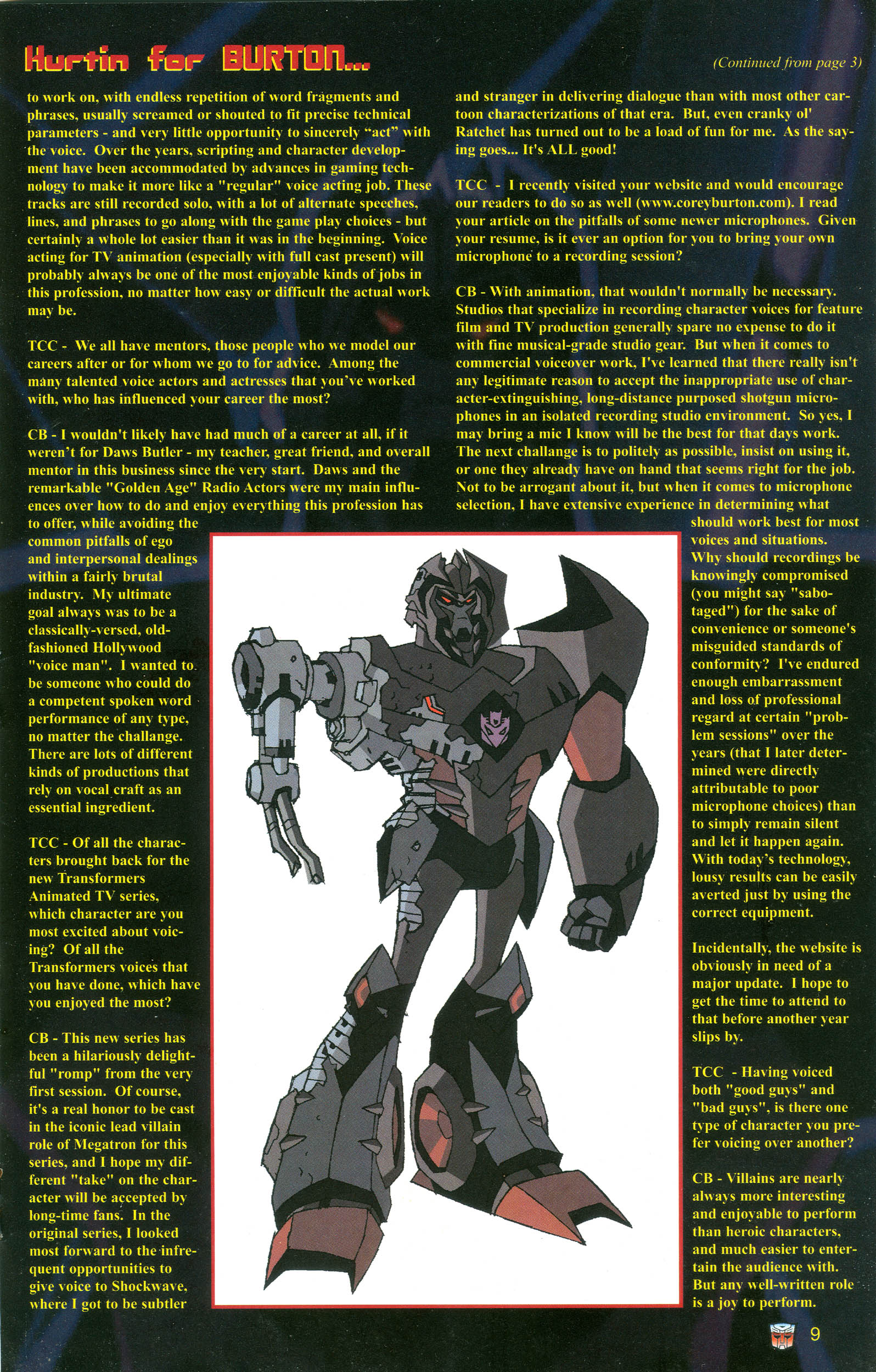 Read online Transformers: Collectors' Club comic -  Issue #20 - 9