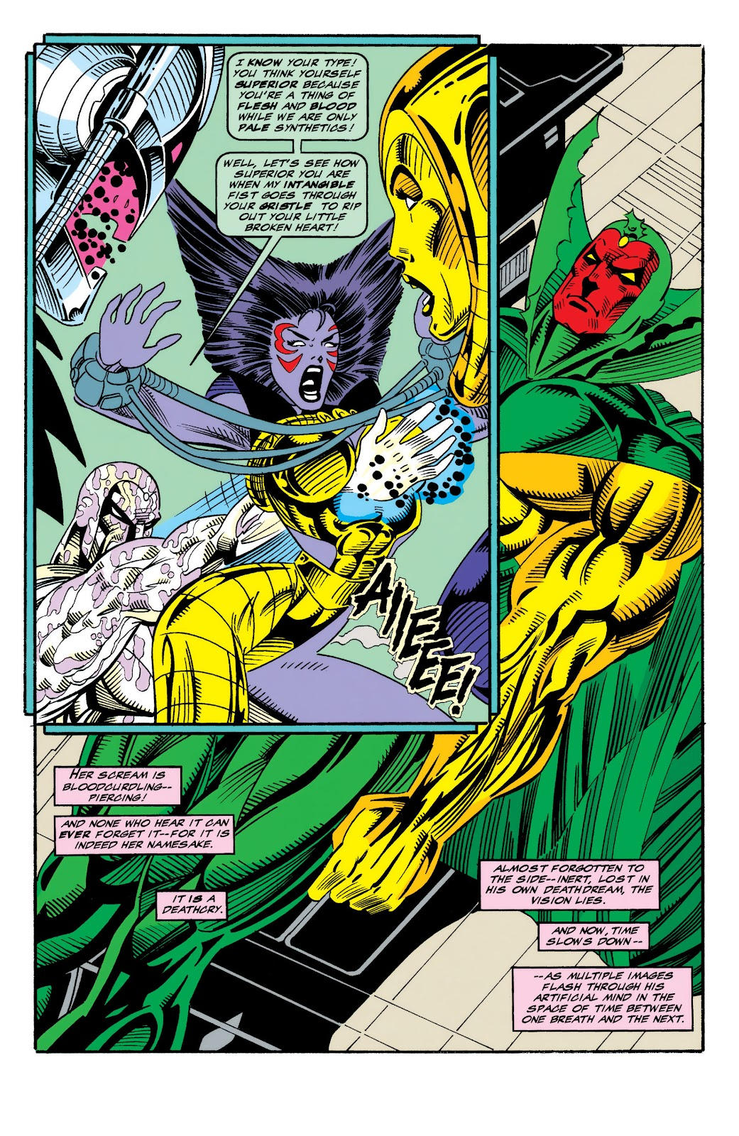 Read online The Vision comic -  Issue #4 - 9