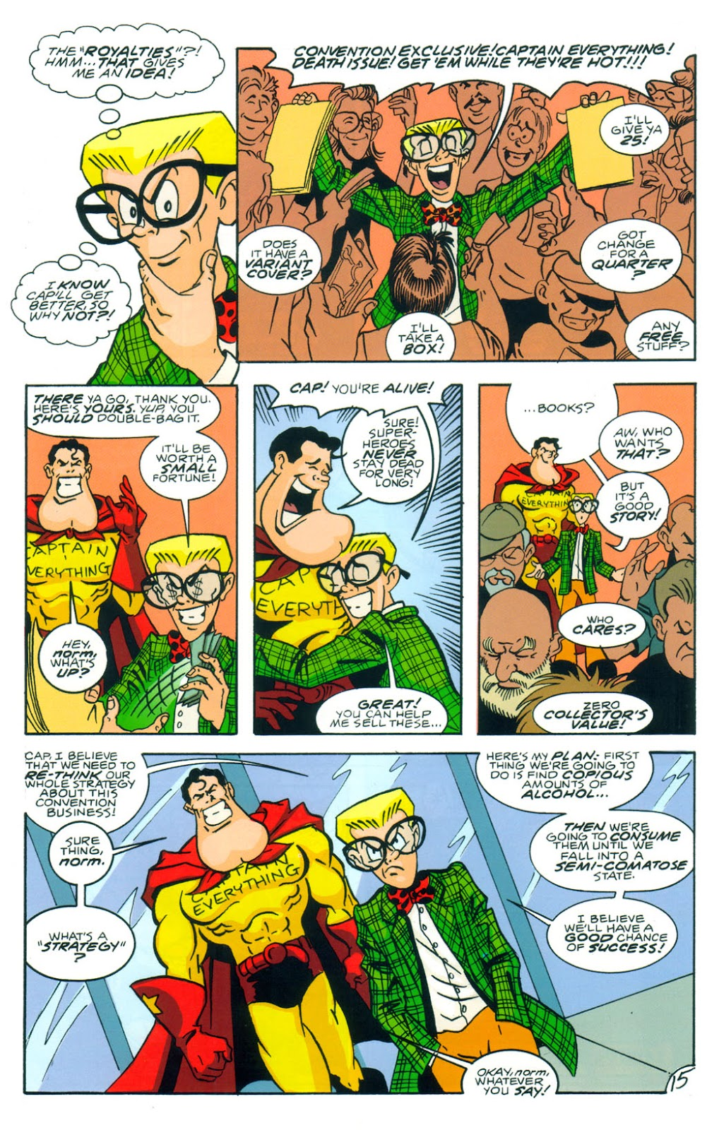 Read online Normalman 20th Anniversary Special comic -  Issue # Full - 17