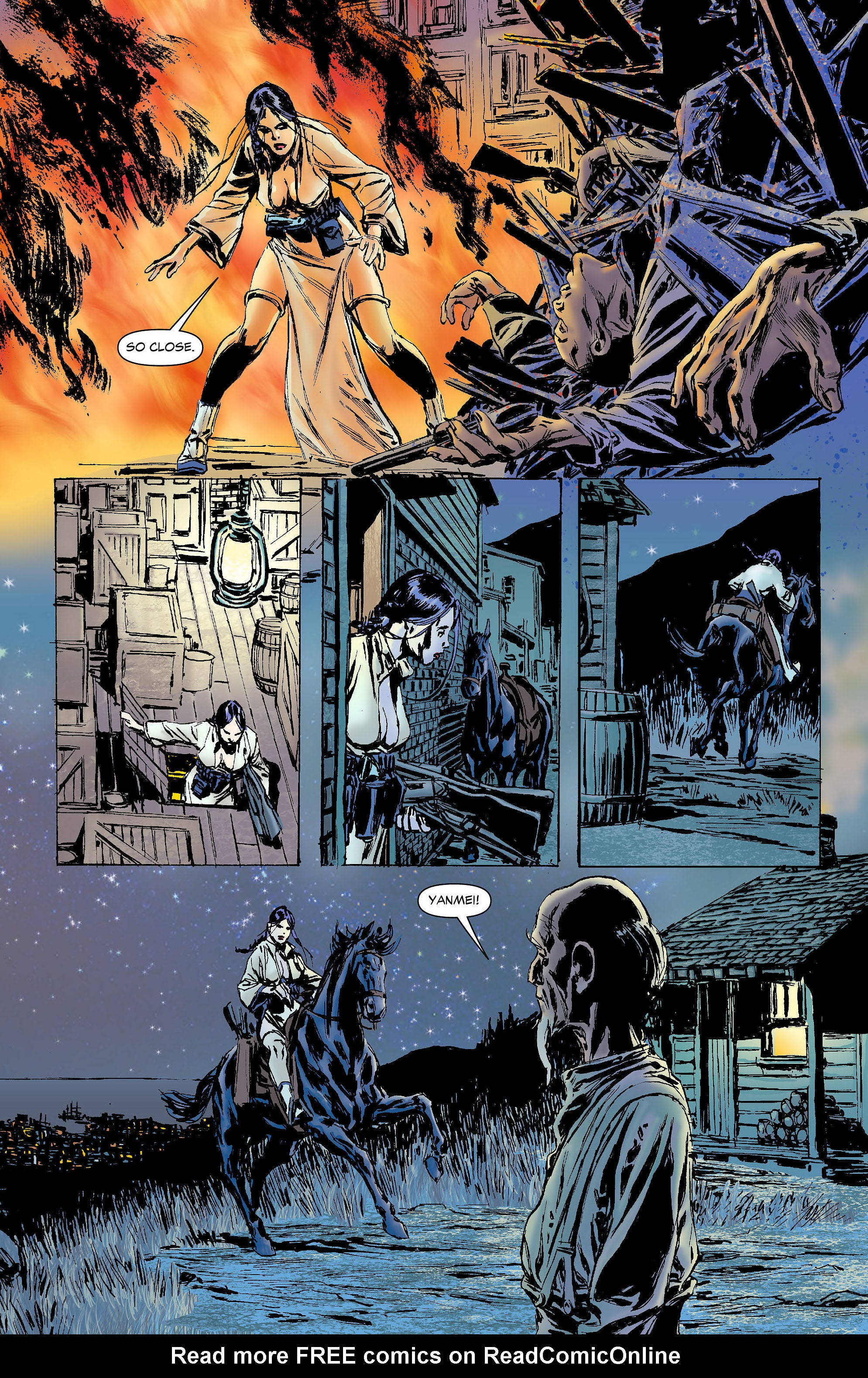 Read online All-Star Western (2011) comic -  Issue #4 - 25