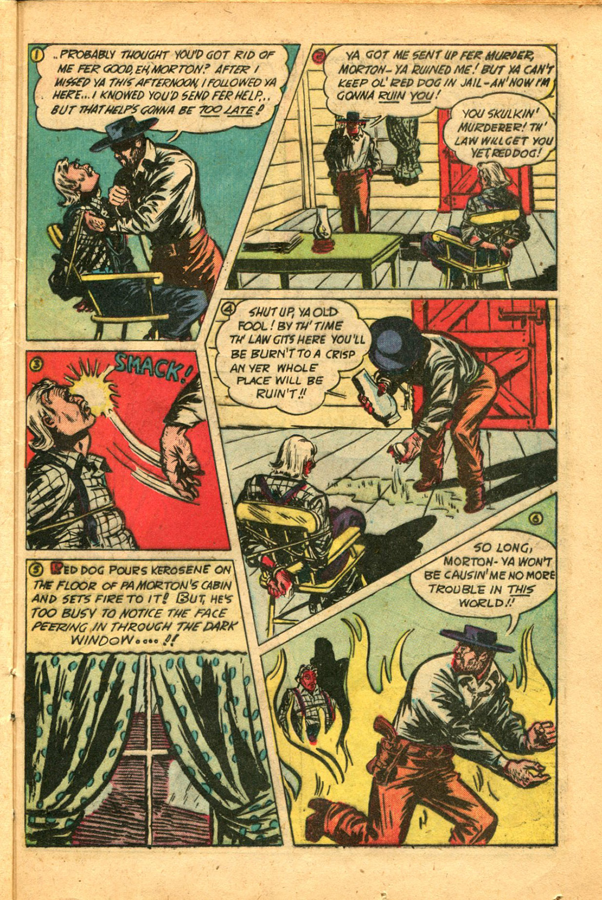 Read online Shadow Comics comic -  Issue #78 - 35