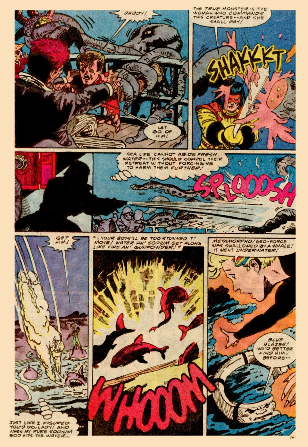 Read online Adventures of the Outsiders comic -  Issue #37 - 15