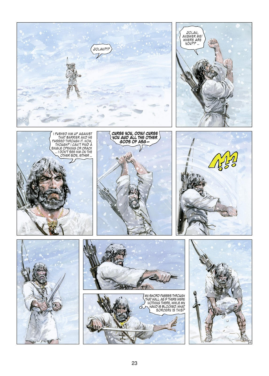 Read online Thorgal comic -  Issue #21 - 25