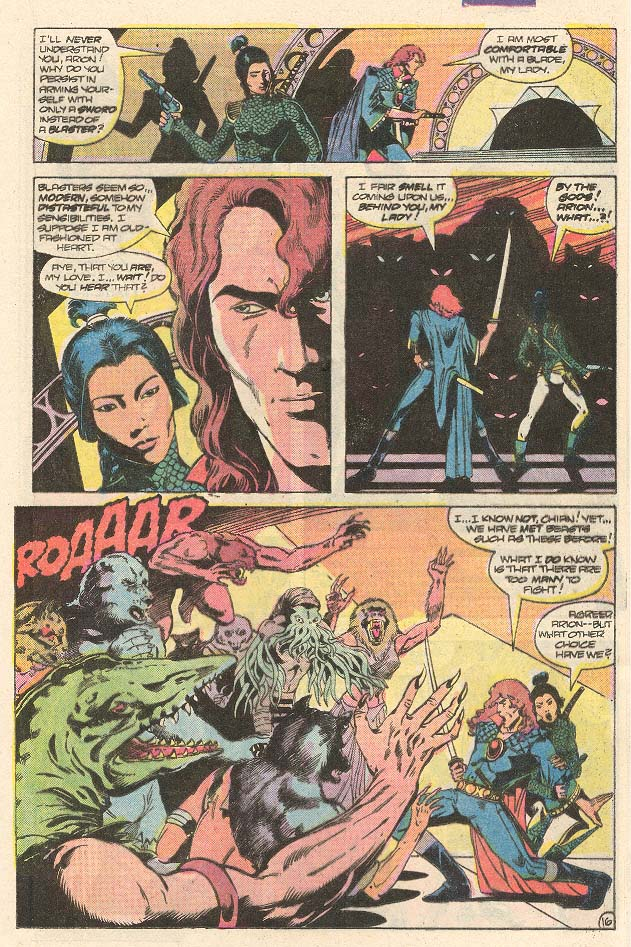 Read online Arion, Lord of Atlantis comic -  Issue #30 - 17