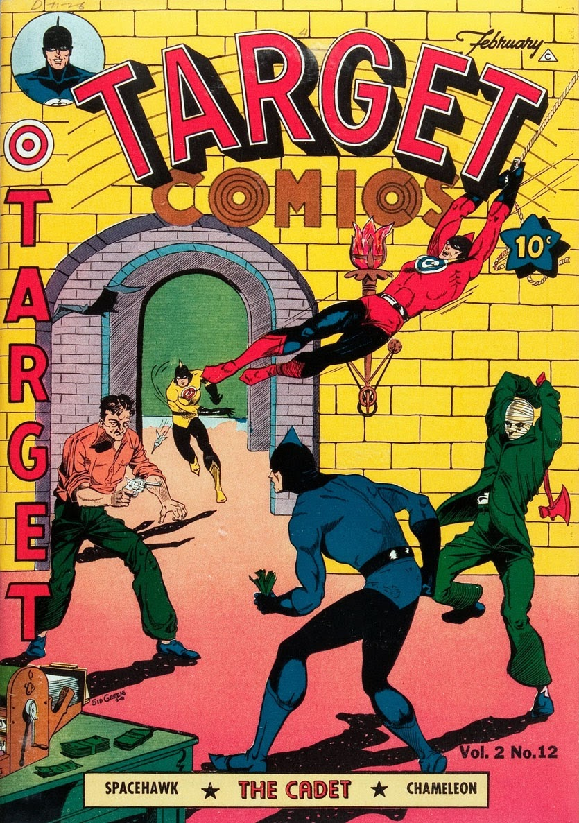Target Comics 24 Page 1