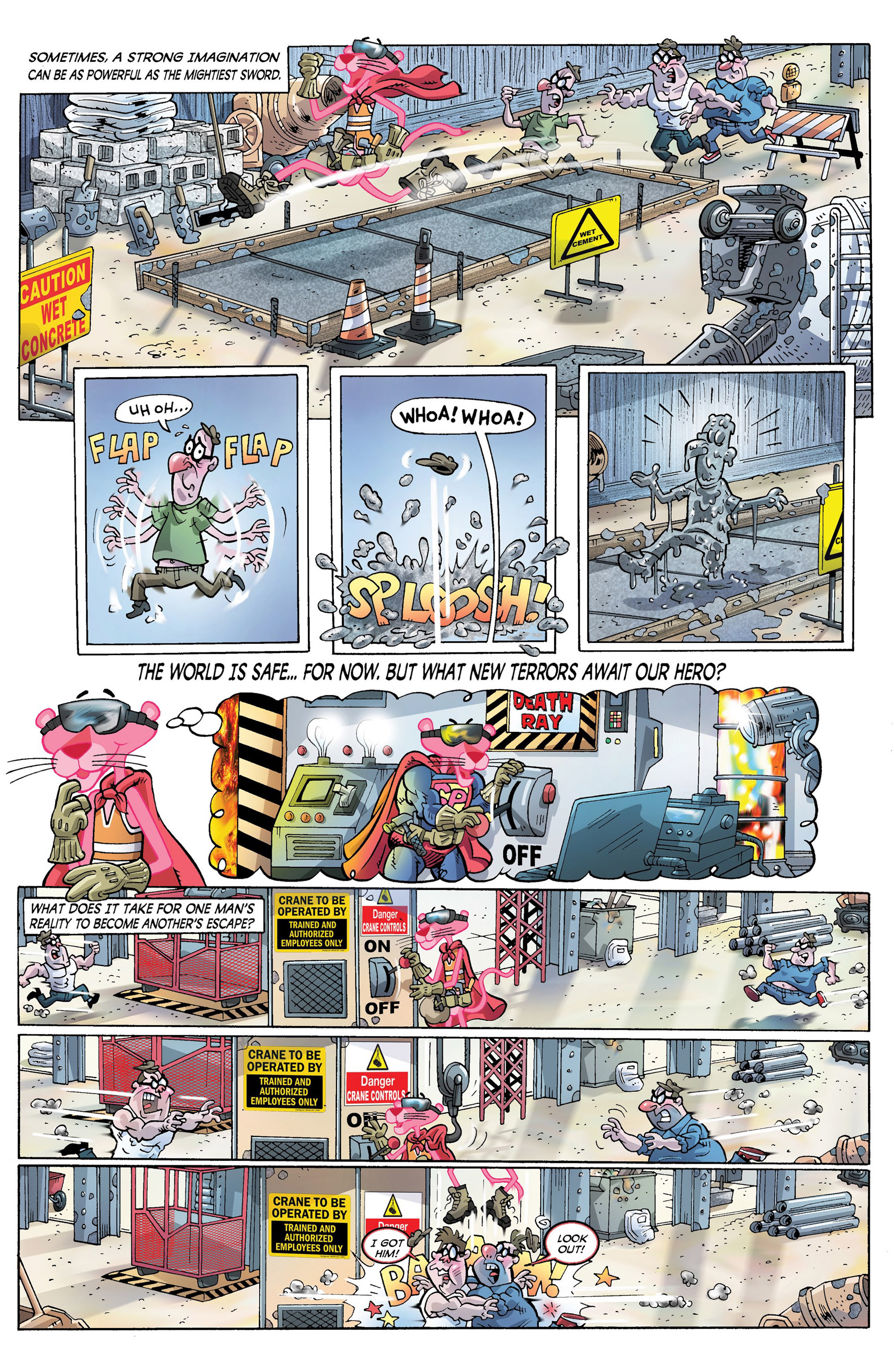 Read online Pink Panther Super-Pink Special comic -  Issue # Full - 7