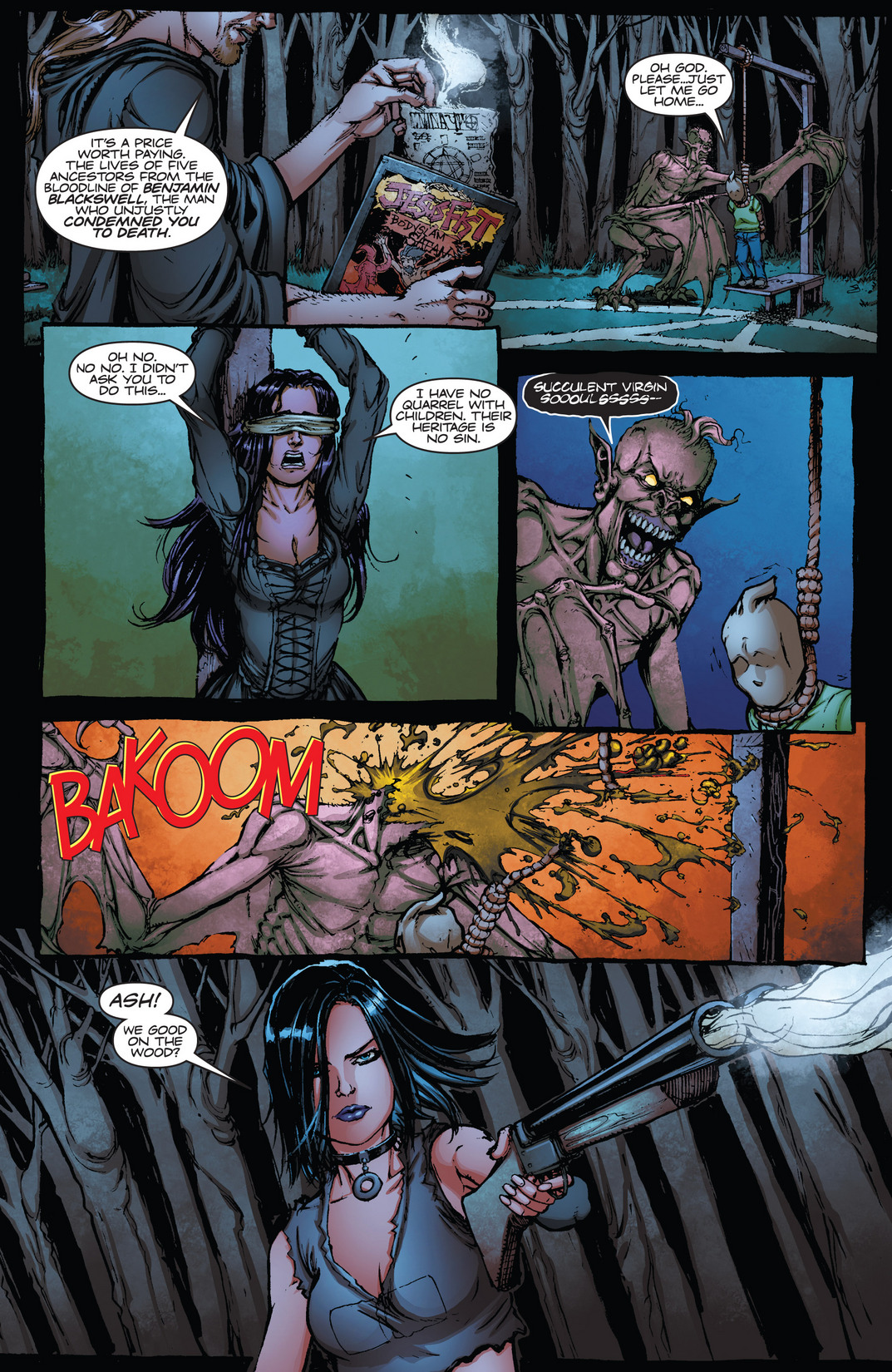 Read online Army of Darkness vs. Hack/Slash comic -  Issue #4 - 15